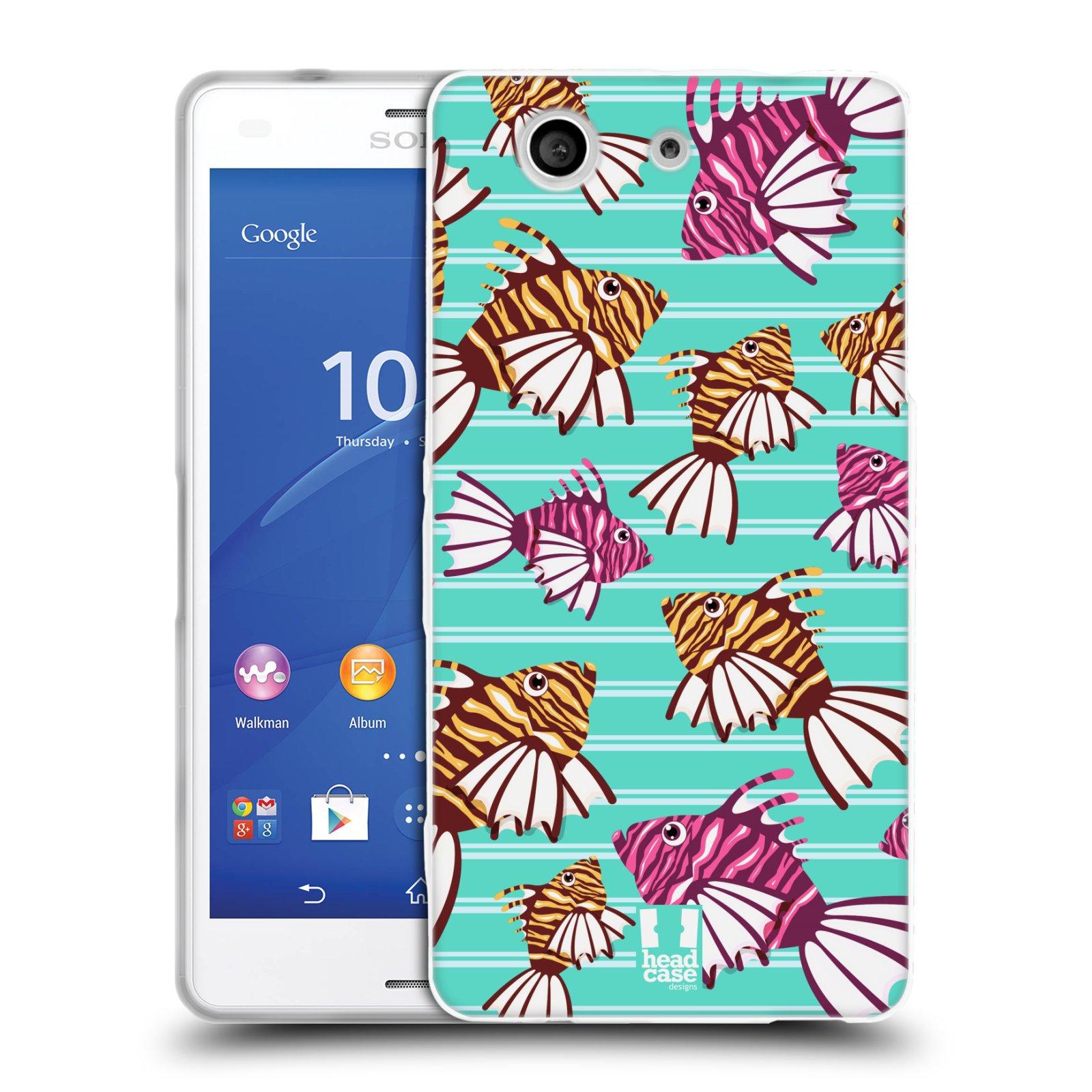 HEAD CASE silikonový obal na mobil Sony Xperia Z3 COMPACT (D5803) vzor mořský živočich ryba