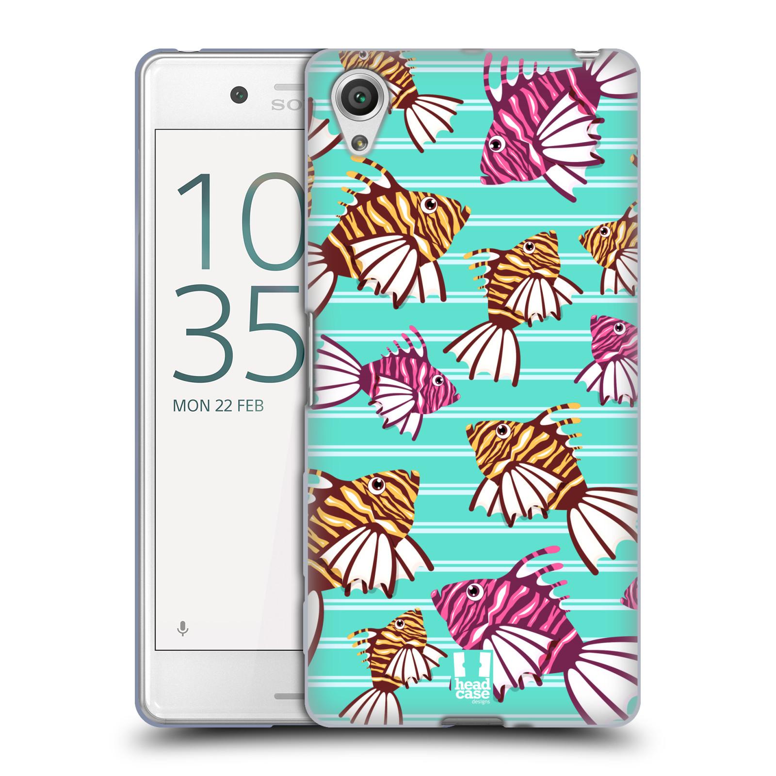 HEAD CASE silikonový obal na mobil Sony Xperia X PERFORMANCE (F8131, F8132) vzor mořský živočich ryba