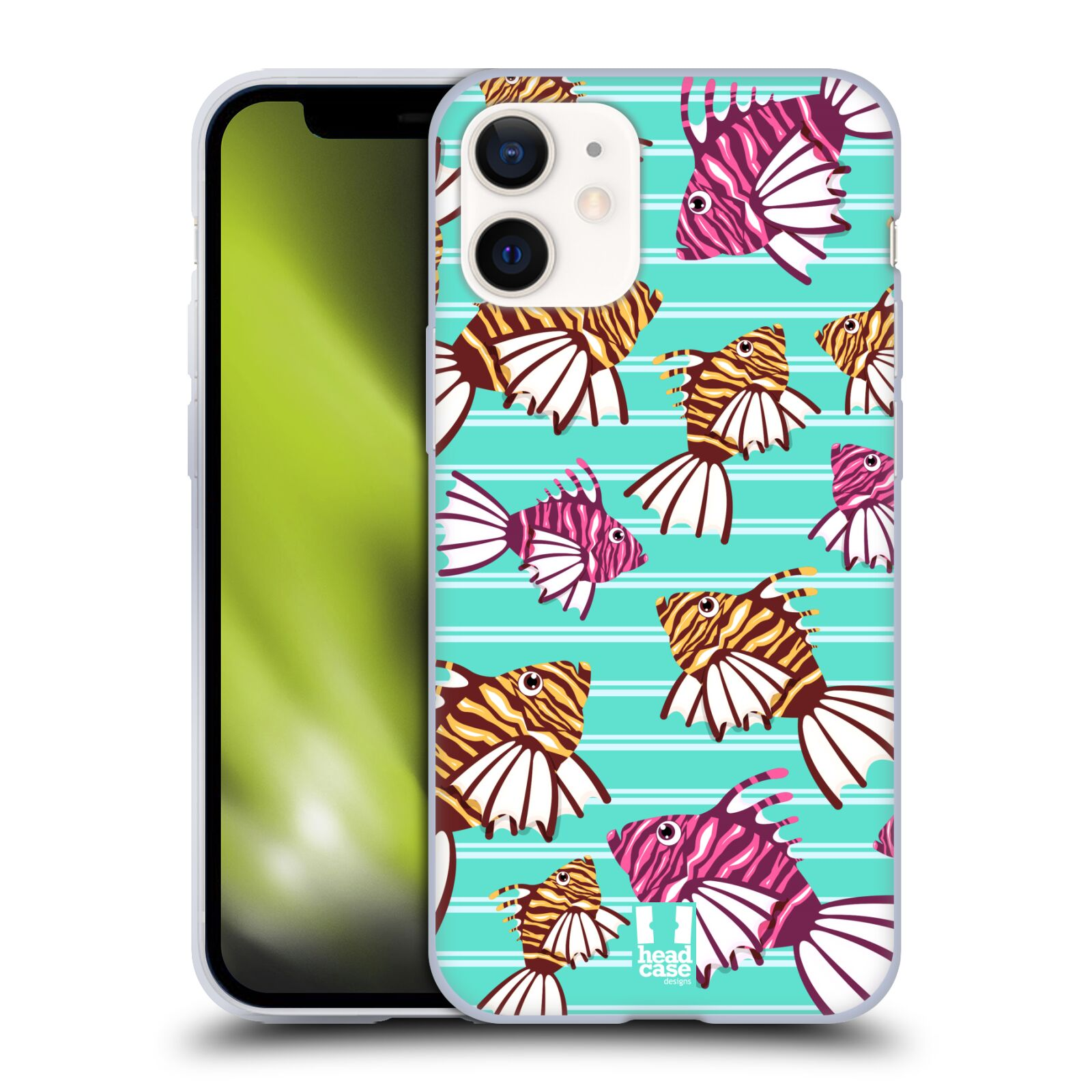 Plastový obal na mobil Apple Iphone 12 MINI vzor mořský živočich ryba