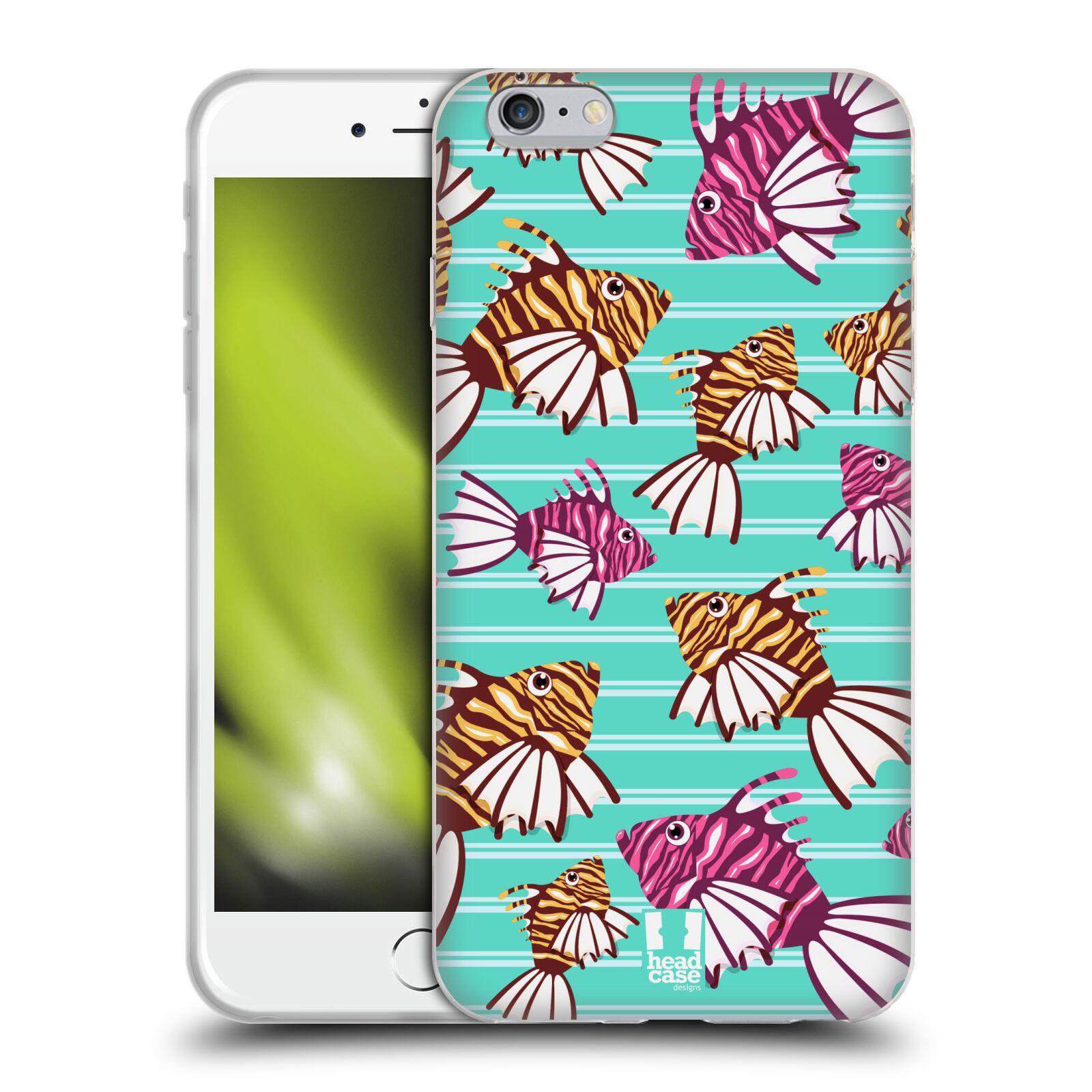 HEAD CASE silikonový obal na mobil Apple Iphone 6 PLUS/ 6S PLUS vzor mořský živočich ryba