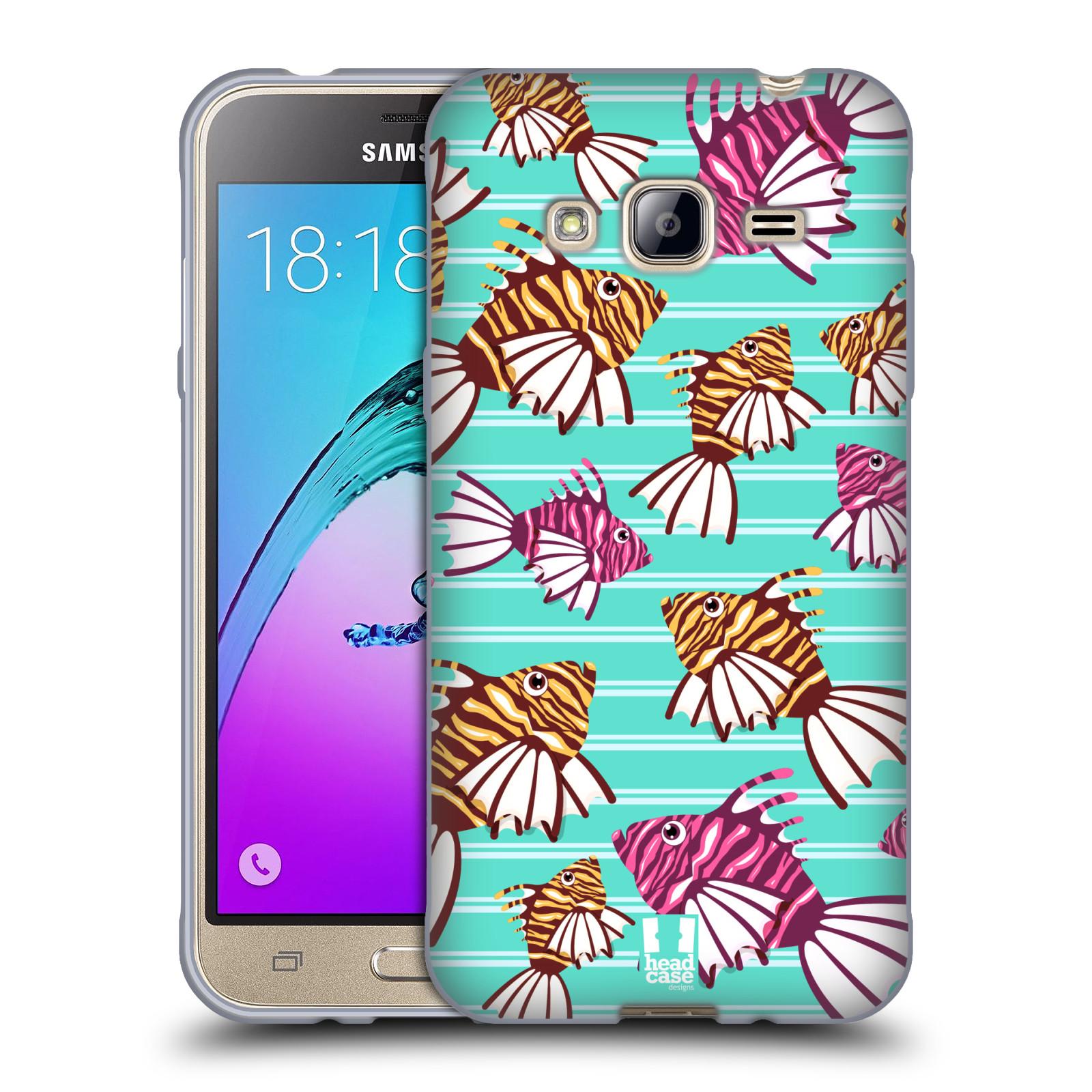HEAD CASE silikonový obal na mobil Samsung Galaxy J3, J3 2016 vzor mořský živočich ryba