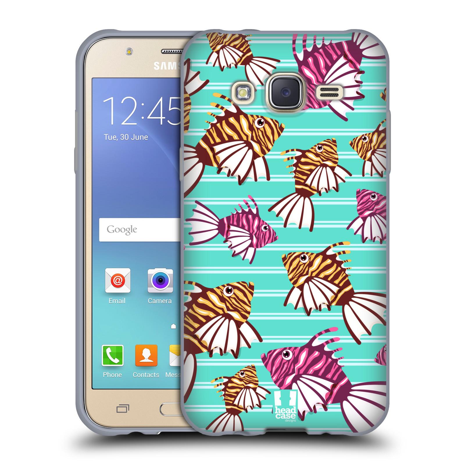 HEAD CASE silikonový obal na mobil Samsung Galaxy J5, J500, (J5 DUOS) vzor mořský živočich ryba