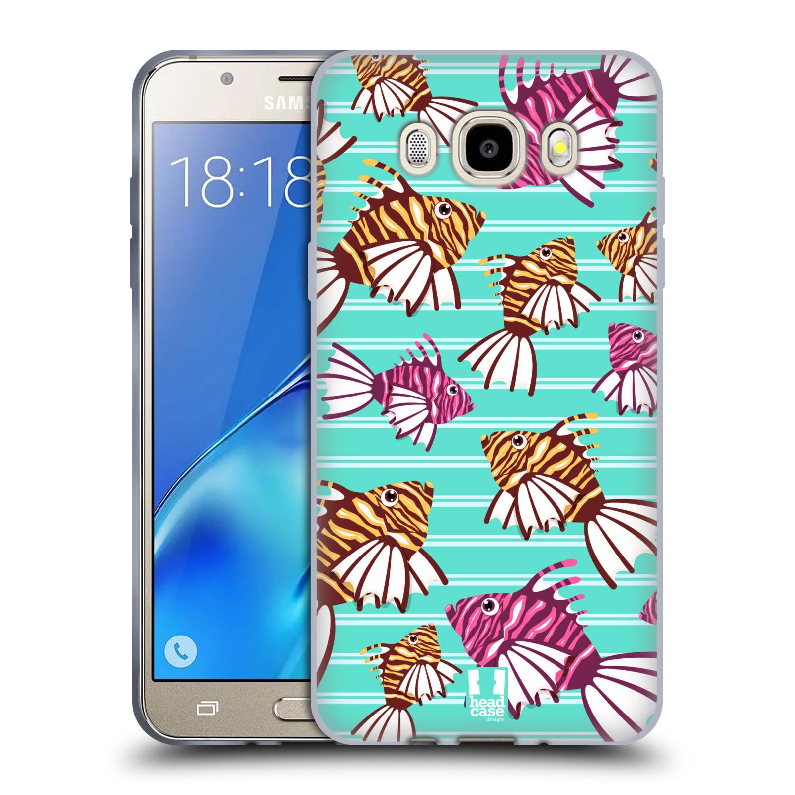 HEAD CASE silikonový obal, kryt na mobil Samsung Galaxy J5 2016, J510, J510F, (J510F DUAL SIM) vzor mořský živočich ryba