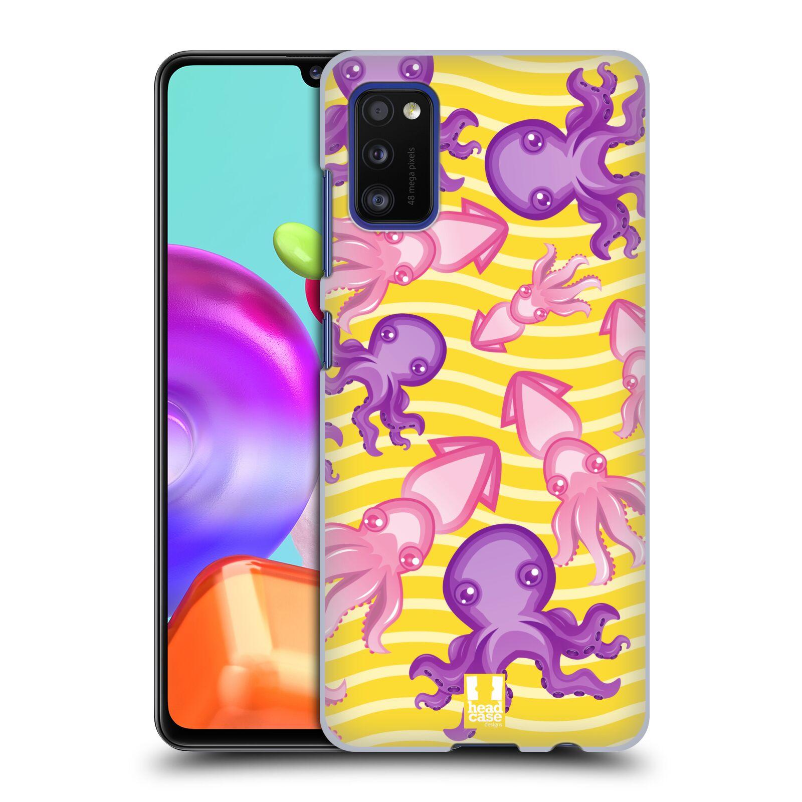 Zadní kryt na mobil Samsung Galaxy A41 vzor mořský živočich chobotnice