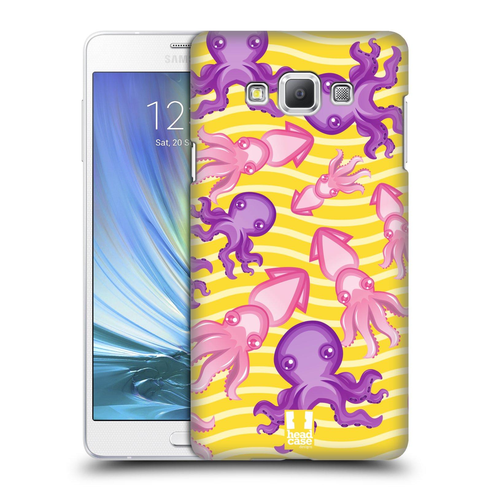 HEAD CASE plastový obal na mobil SAMSUNG GALAXY A7 vzor mořský živočich chobotnice