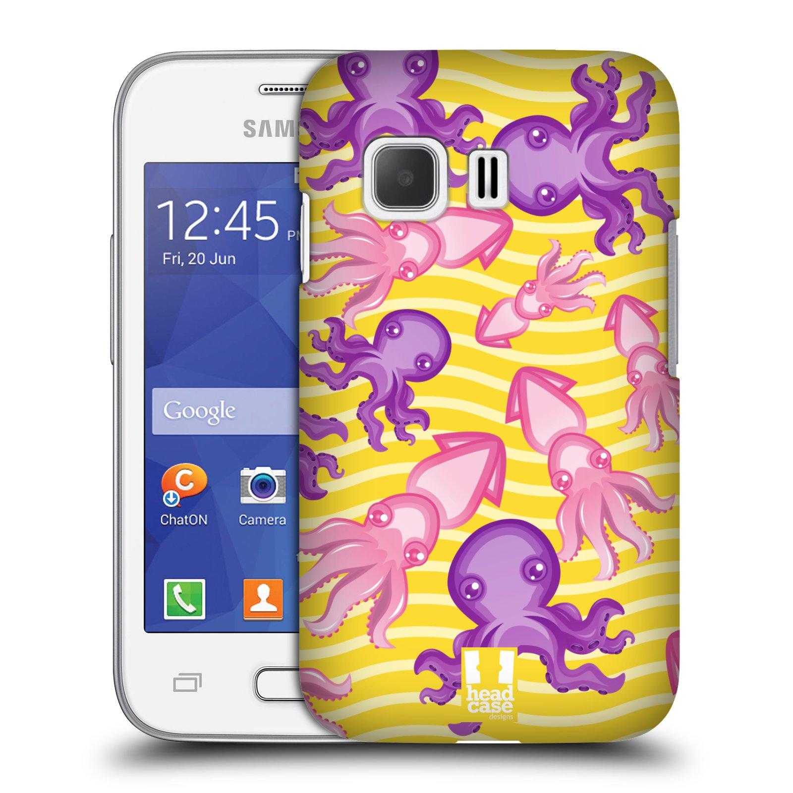 HEAD CASE plastový obal na mobil SAMSUNG Galaxy Young 2 (G130) vzor mořský živočich chobotnice