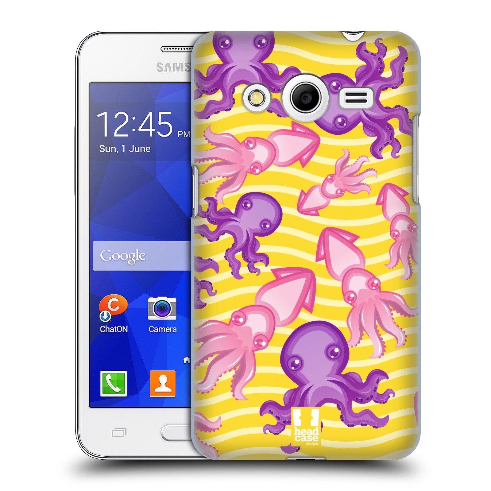 HEAD CASE plastový obal na mobil SAMSUNG GALAXY Core 2 (G355H) vzor mořský živočich chobotnice