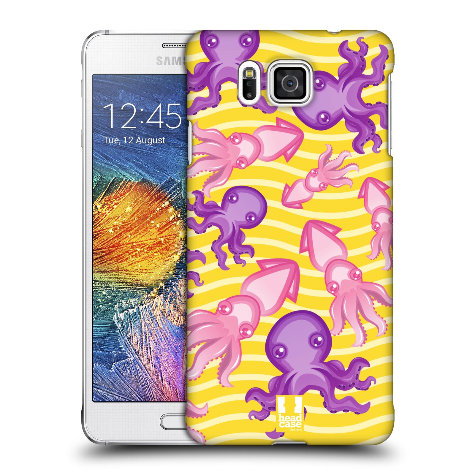 HEAD CASE plastový obal na mobil SAMSUNG Galaxy Alpha (G850) vzor mořský živočich chobotnice