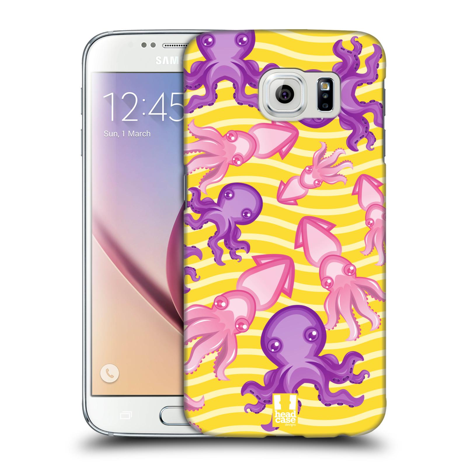 HEAD CASE plastový obal na mobil SAMSUNG Galaxy S6 (G9200, G920F) vzor mořský živočich chobotnice