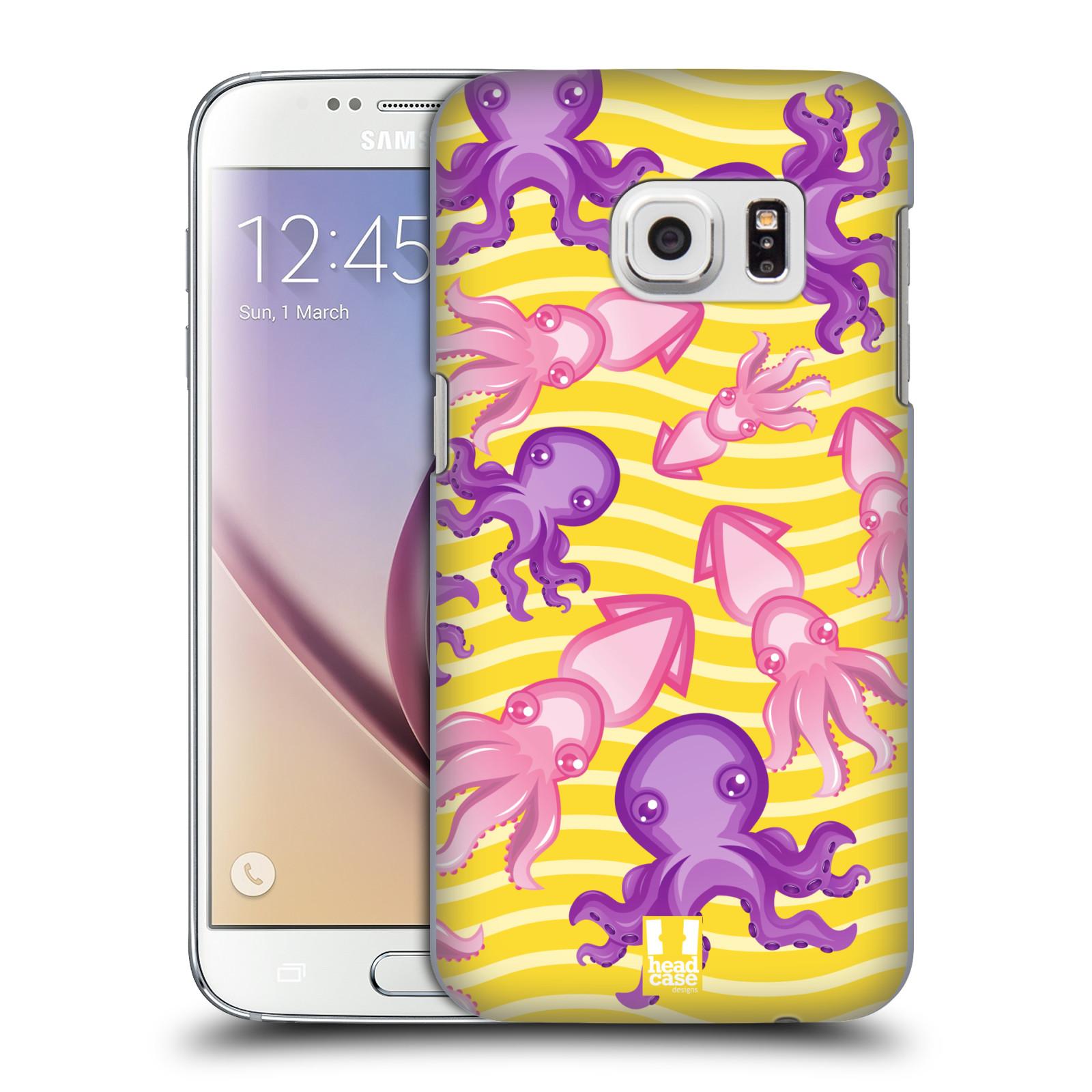 HEAD CASE plastový obal na mobil SAMSUNG GALAXY S7 vzor mořský živočich chobotnice
