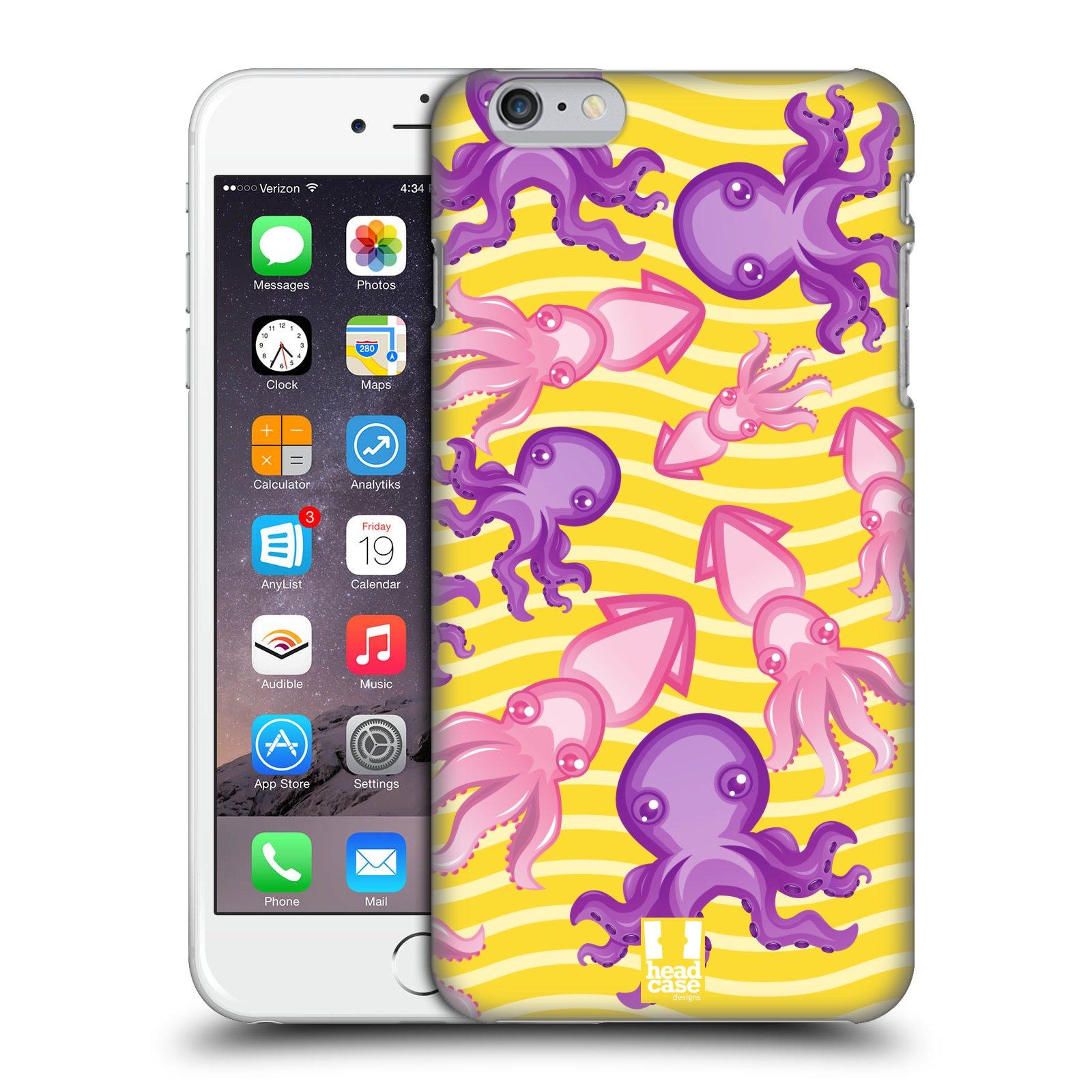 Plastové pouzdro pro mobil Apple Iphone 6 PLUS / 6S PLUS vzor mořský živočich chobotnice