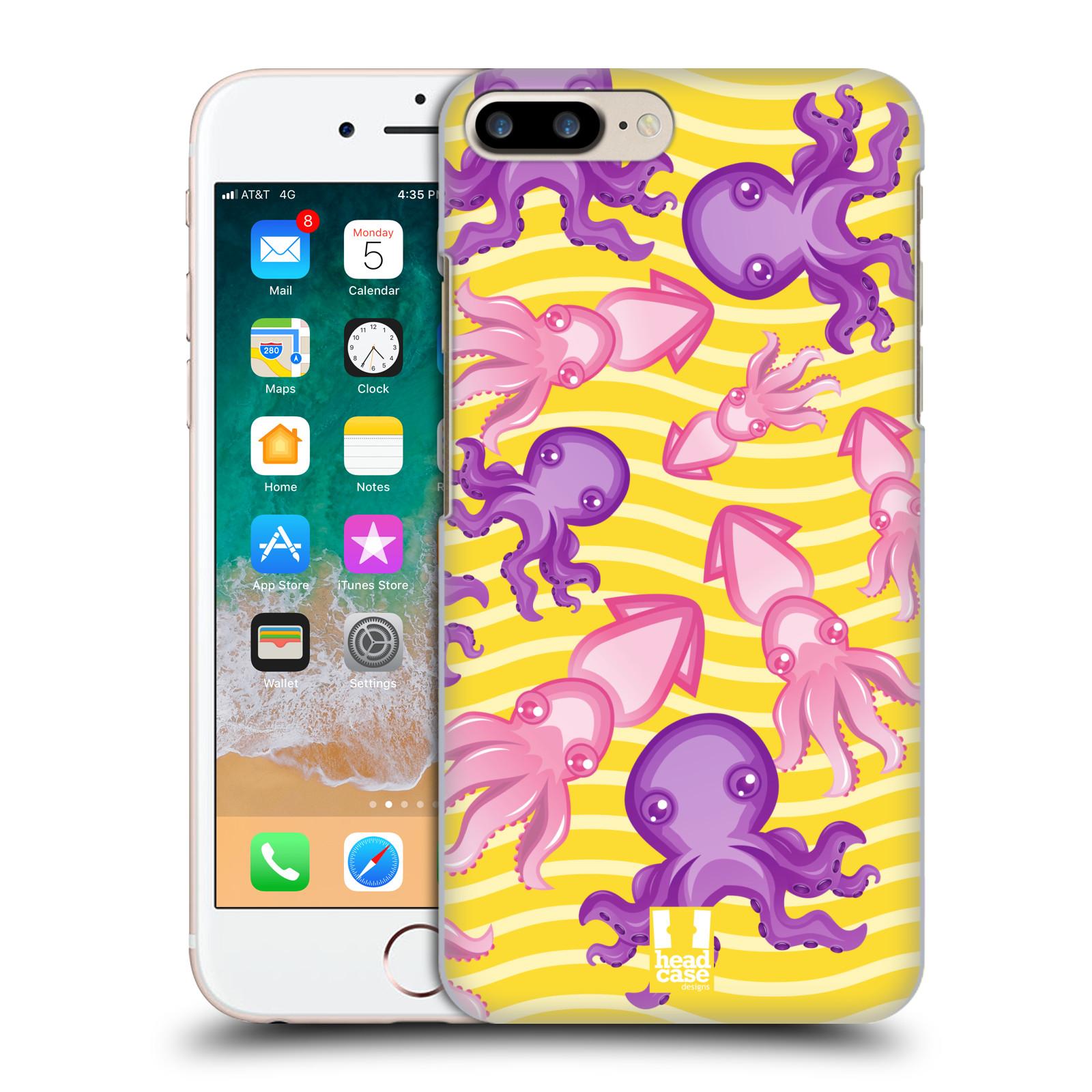 HEAD CASE plastový obal na mobil Apple Iphone 7 PLUS vzor mořský živočich chobotnice