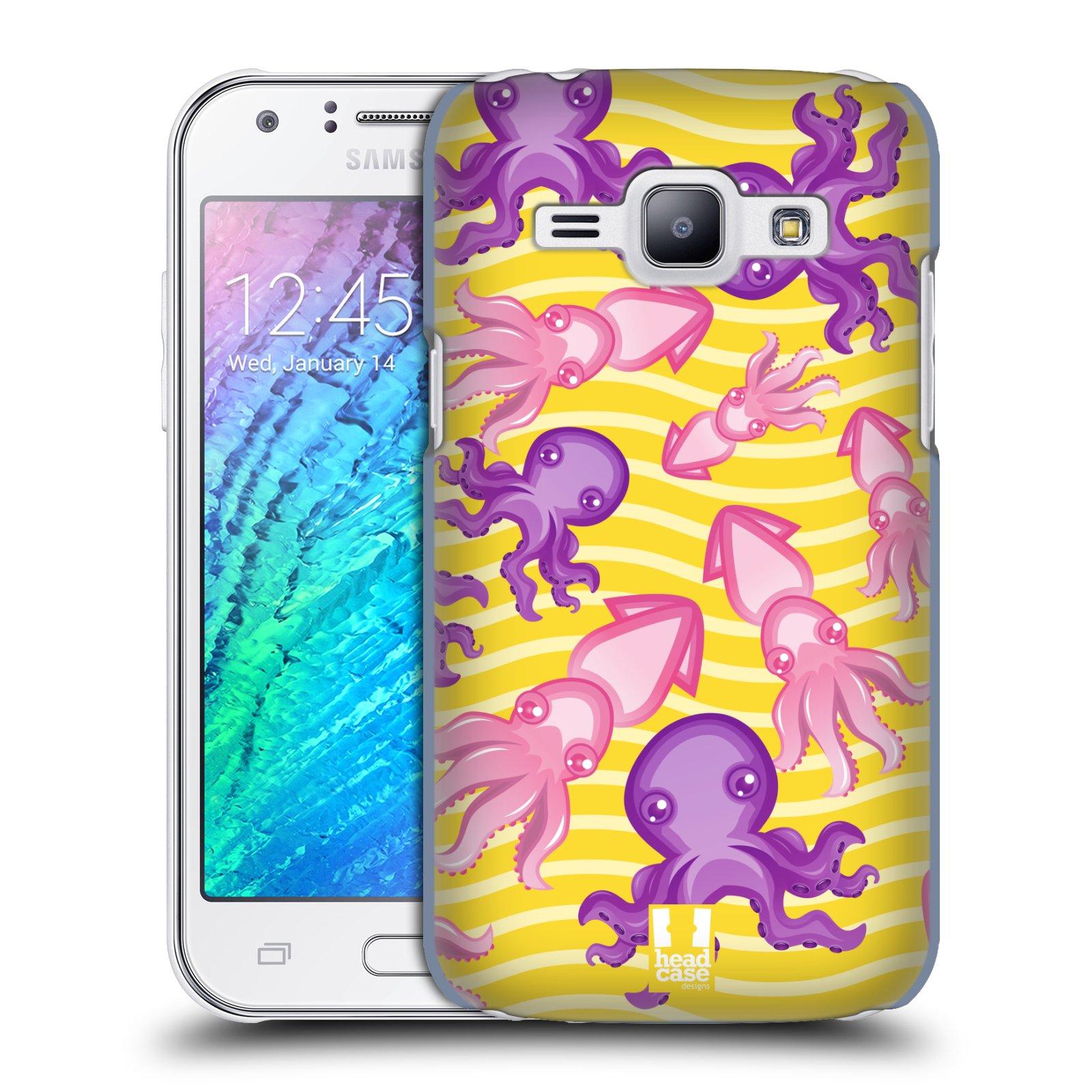 HEAD CASE plastový obal na mobil SAMSUNG Galaxy J1, J100 vzor mořský živočich chobotnice
