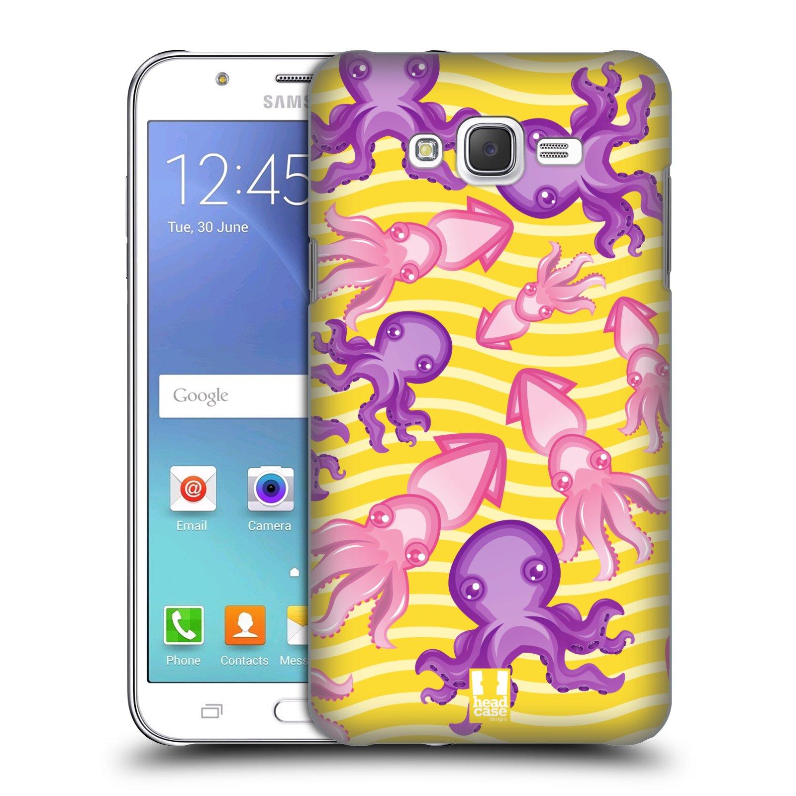 HEAD CASE plastový obal na mobil SAMSUNG Galaxy J7, J700 vzor mořský živočich chobotnice