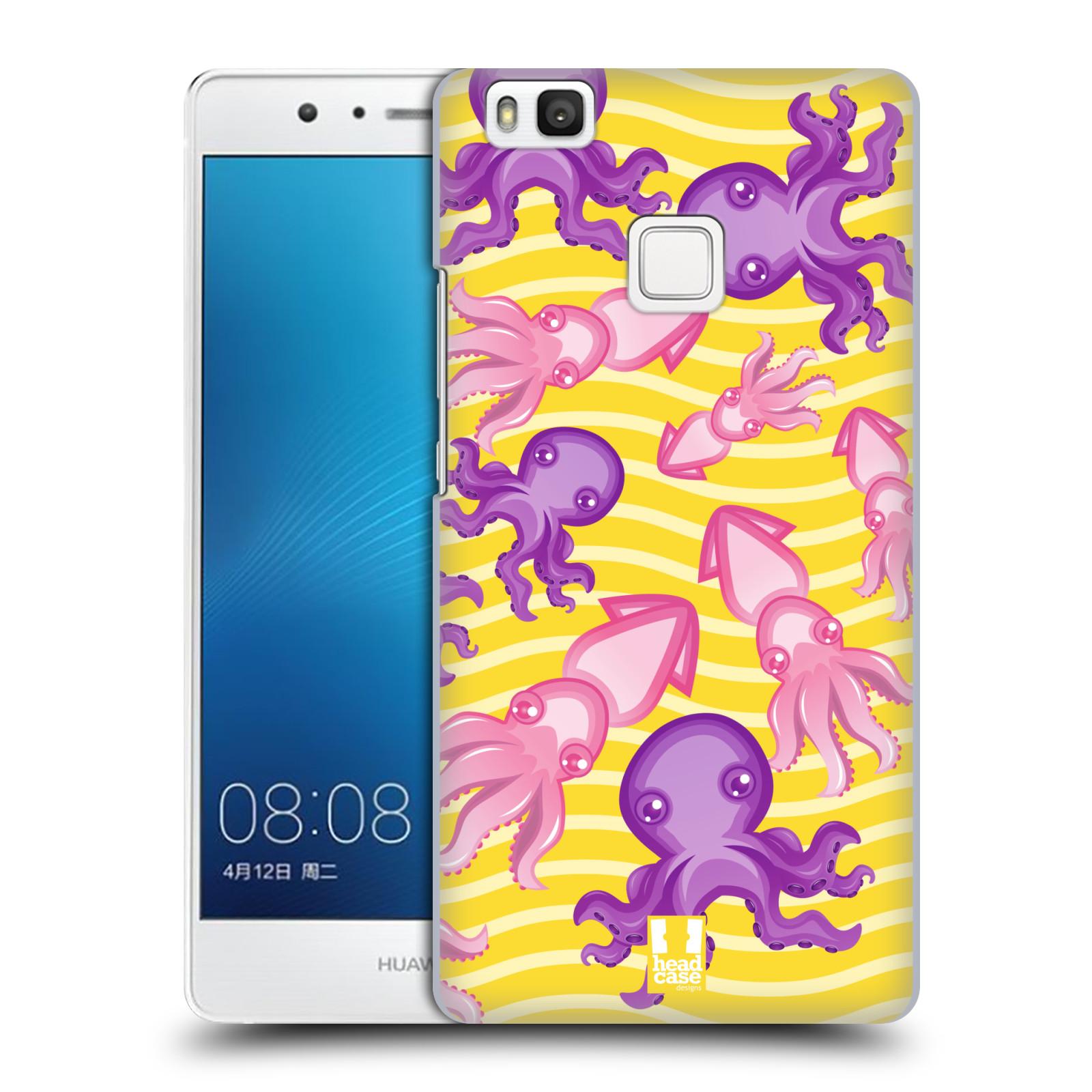 HEAD CASE plastový obal na mobil Huawei P9 LITE / P9 LITE DUAL SIM vzor mořský živočich chobotnice