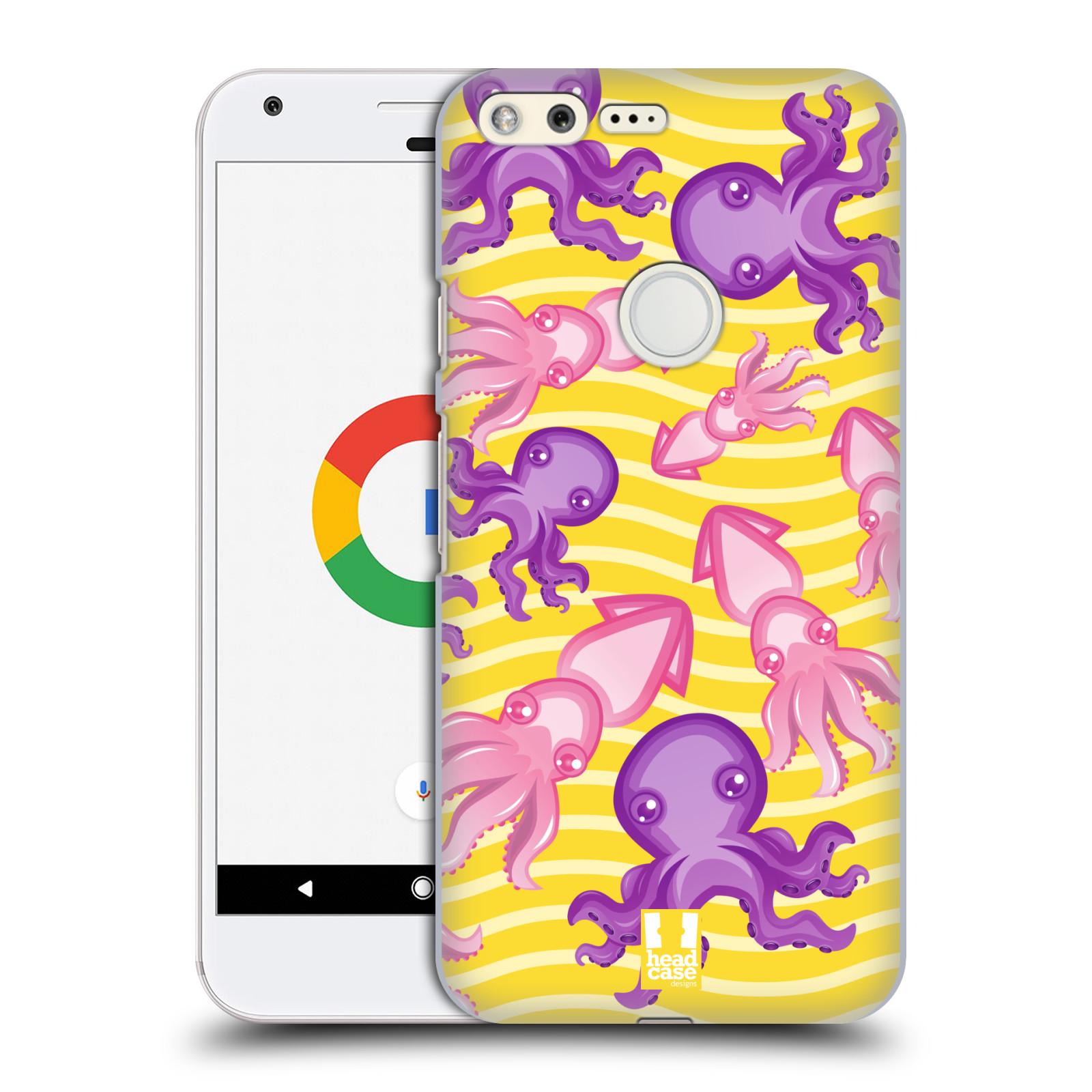 HEAD CASE plastový obal na mobil GOOGLE Pixel vzor mořský živočich chobotnice