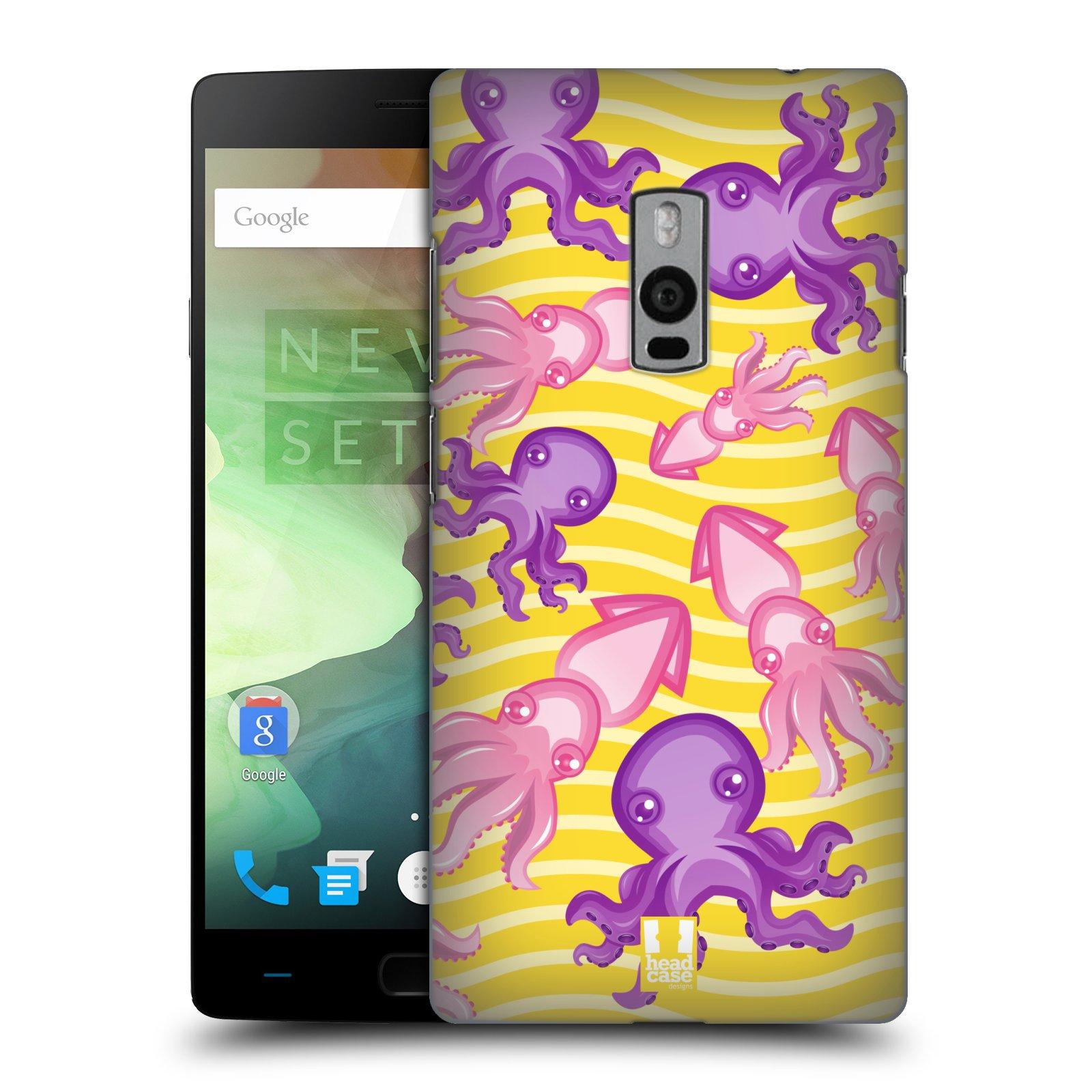 HEAD CASE pevný plastový obal na mobil OnePlus 2  ( TWO ) vzor mořský živočich chobotnice