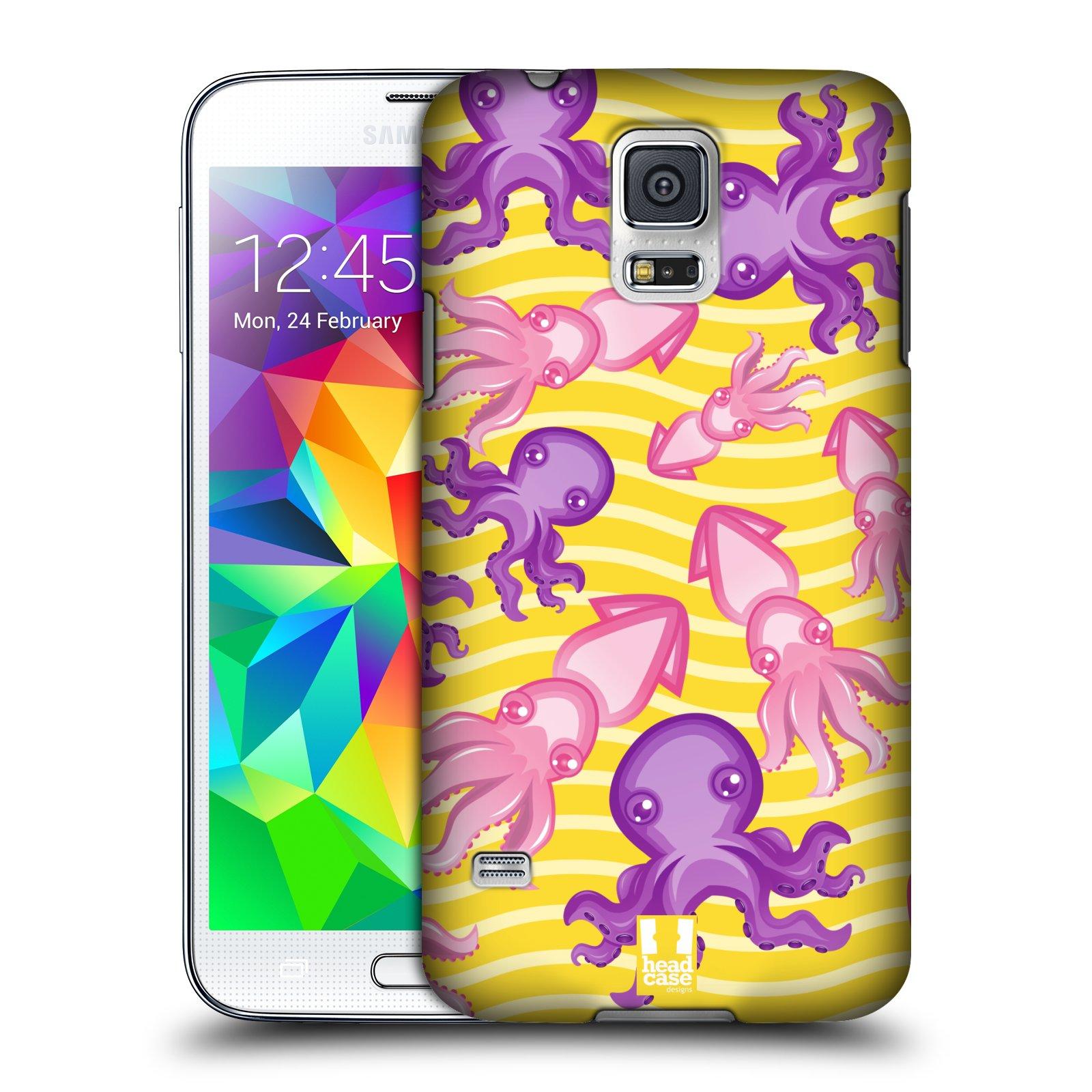 HEAD CASE plastový obal na mobil SAMSUNG Galaxy SS / S5 NEO (G900, G903F) vzor mořský živočich chobotnice