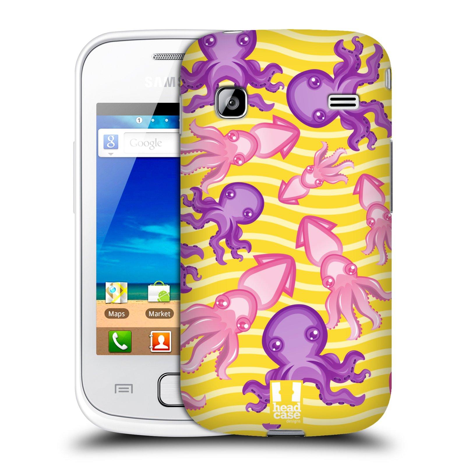 HEAD CASE plastový obal na mobil SAMSUNG GALAXY GIO (S5660) vzor mořský živočich chobotnice