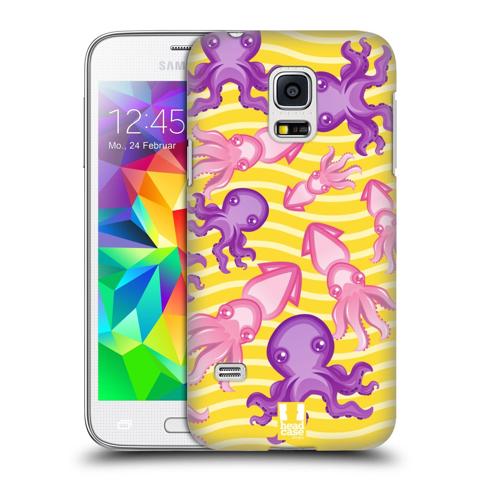 HEAD CASE plastový obal na mobil SAMSUNG Galaxy S5 MINI / S5 MINI DUOS vzor mořský živočich chobotnice