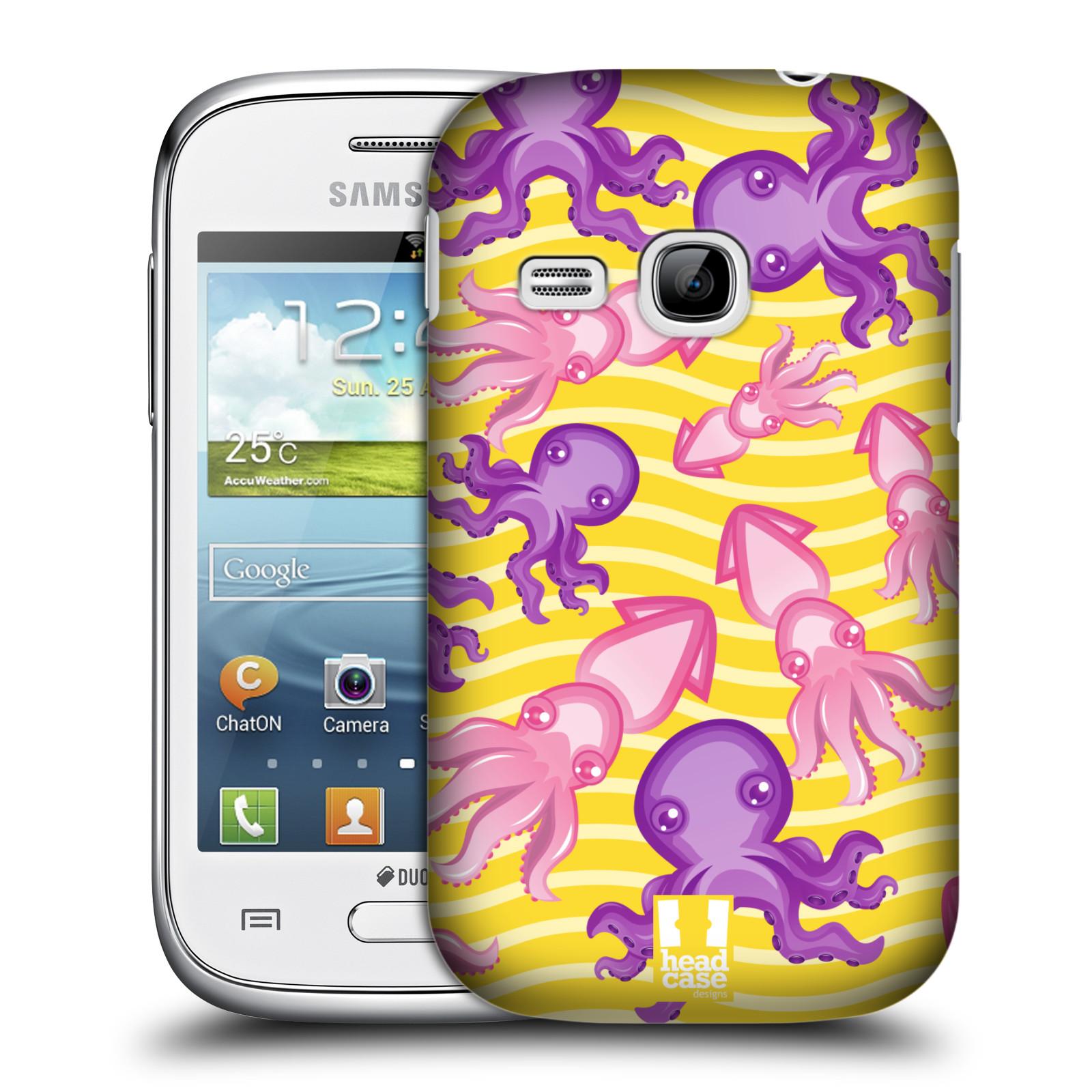 HEAD CASE plastový obal na mobil SAMSUNG Galaxy Young S6310 vzor mořský živočich chobotnice