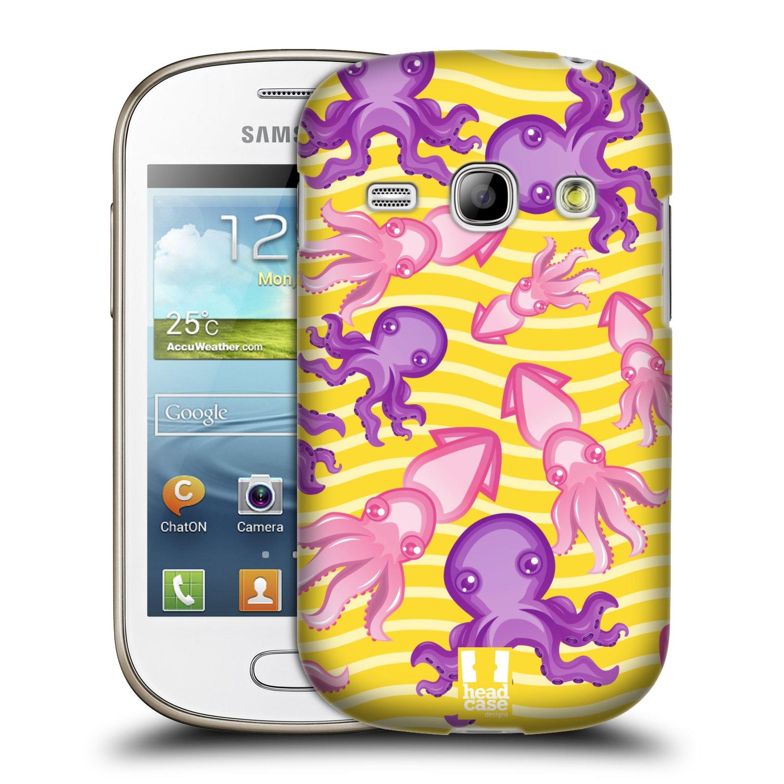 HEAD CASE plastový obal na mobil SAMSUNG GALAXY FAME (S6810) vzor mořský živočich chobotnice