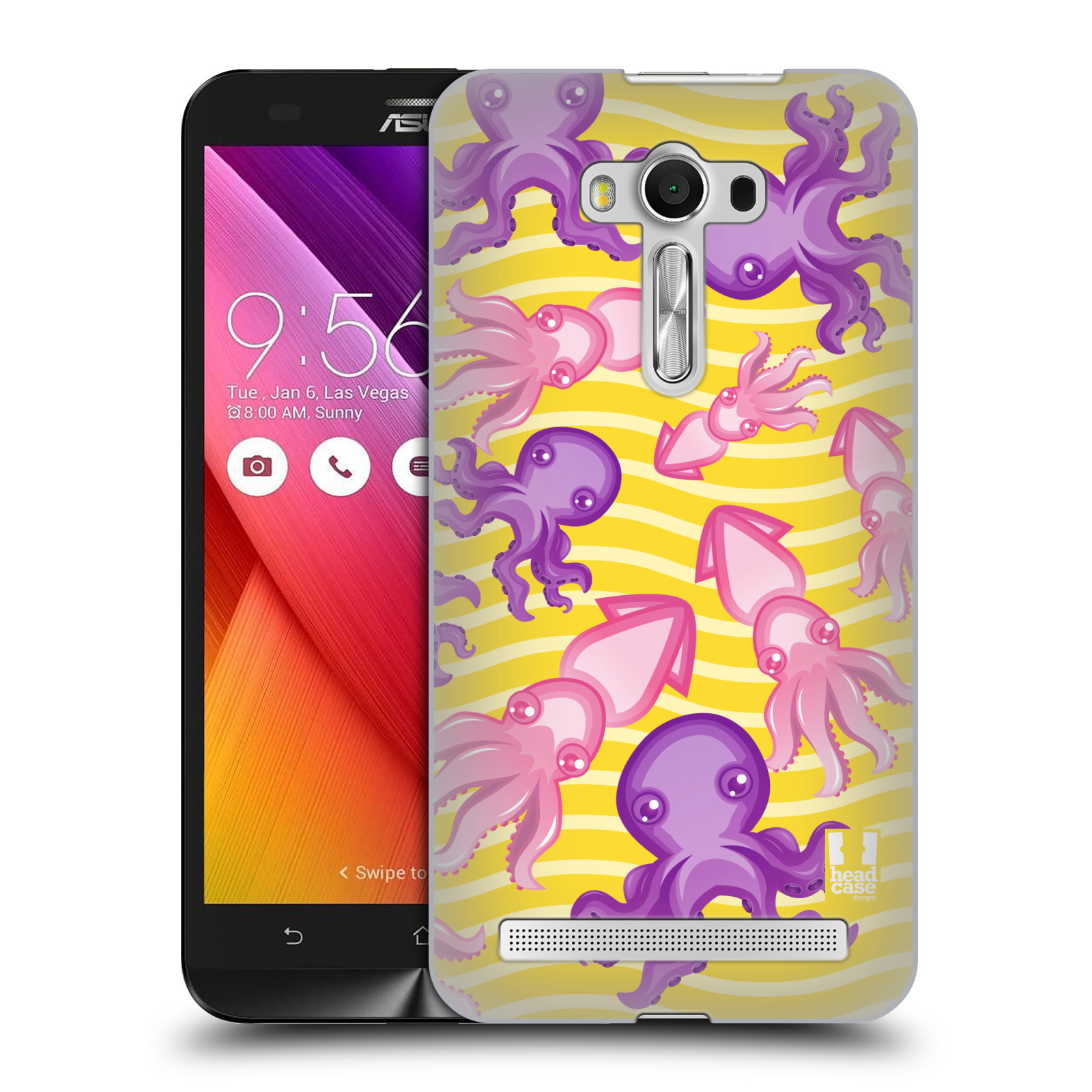 HEAD CASE plastový obal na mobil Asus Zenfone 2 LASER (5,5 displej ZE550KL) vzor mořský živočich chobotnice