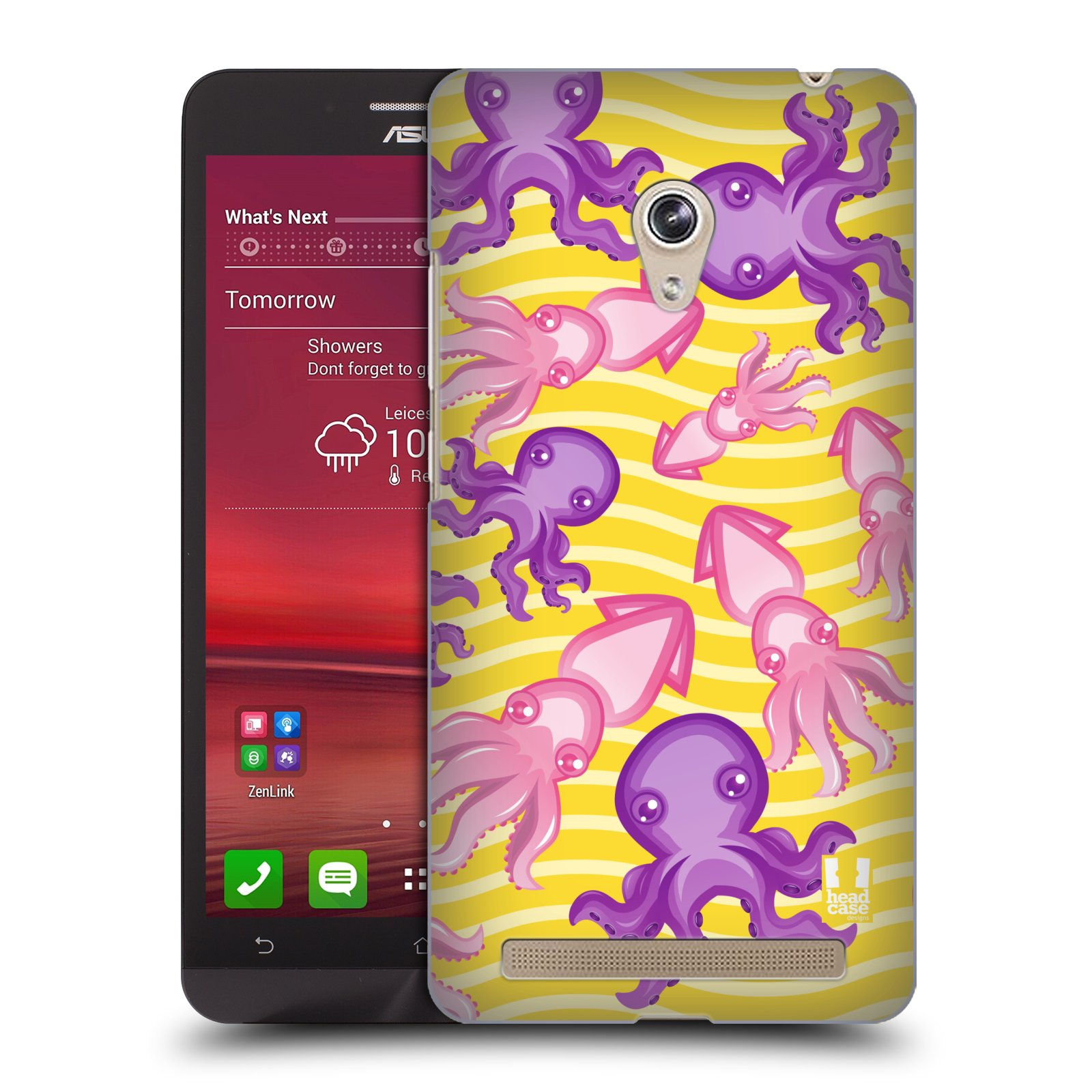HEAD CASE plastový obal na mobil Asus Zenfone 6 vzor mořský živočich chobotnice