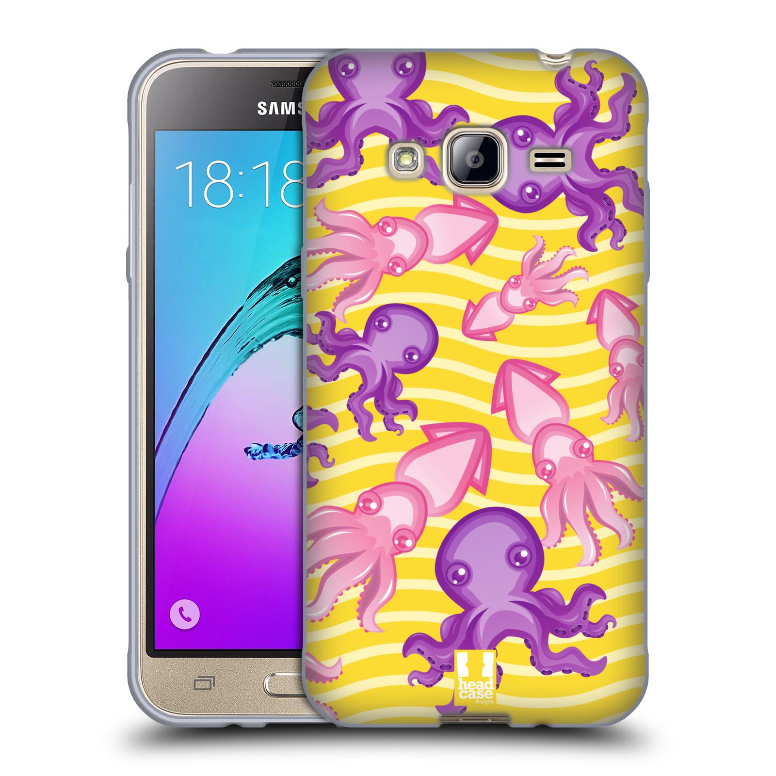 HEAD CASE silikonový obal na mobil Samsung Galaxy J3, J3 2016 vzor mořský živočich chobotnice