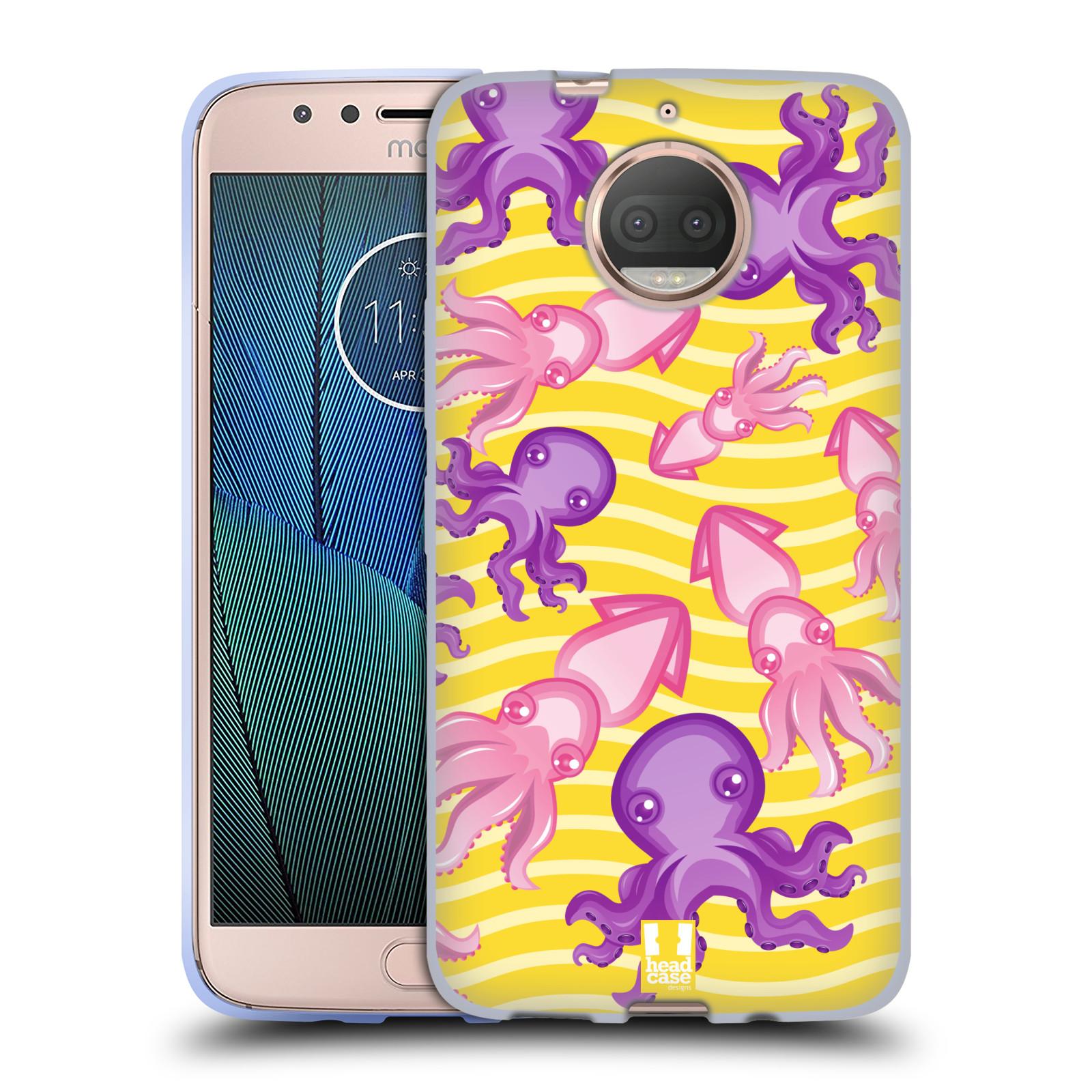HEAD CASE silikonový obal na mobil Lenovo Moto G5s PLUS vzor mořský živočich chobotnice