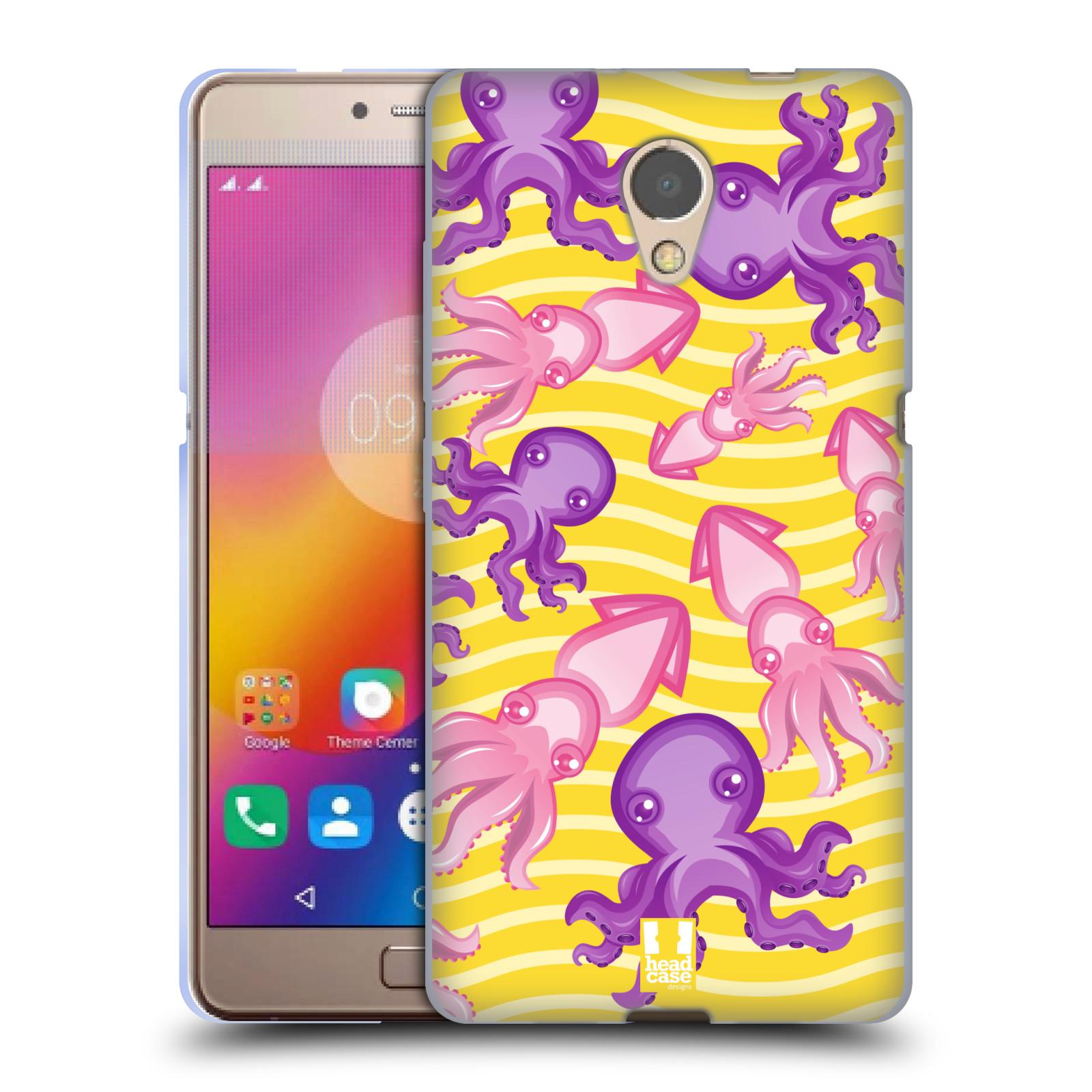 HEAD CASE silikonový obal na mobil Lenovo Vibe P2 vzor mořský živočich  chobotnice 2e9a9ba5fb8