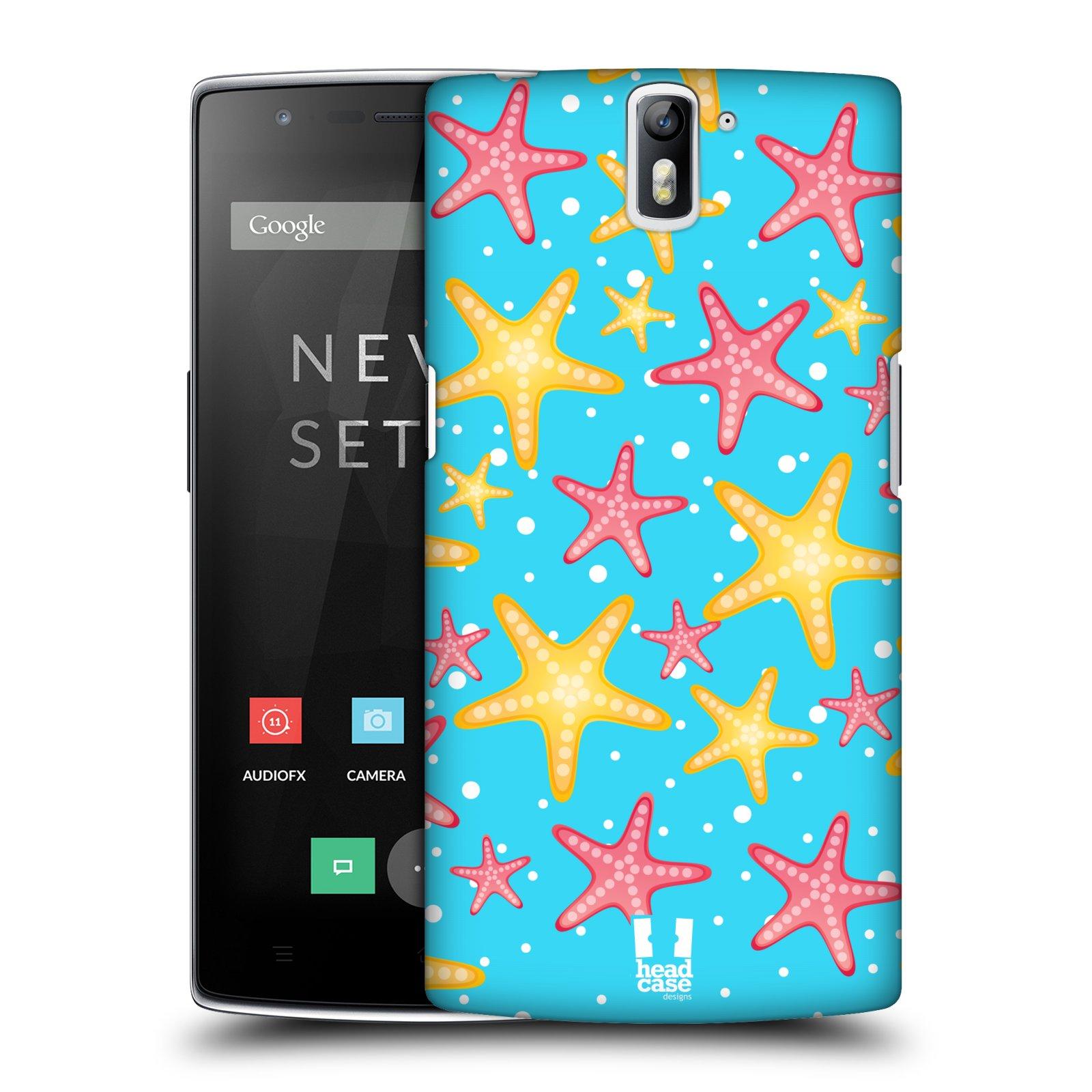HEAD CASE pevný plastový obal na mobil OnePlus ONE vzor mořský živočich hvězda