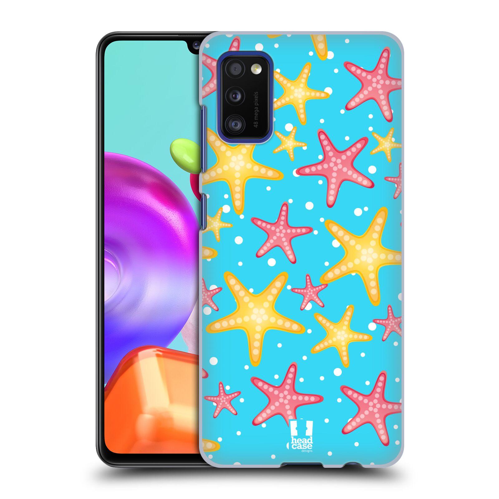 Zadní kryt na mobil Samsung Galaxy A41 vzor mořský živočich hvězda