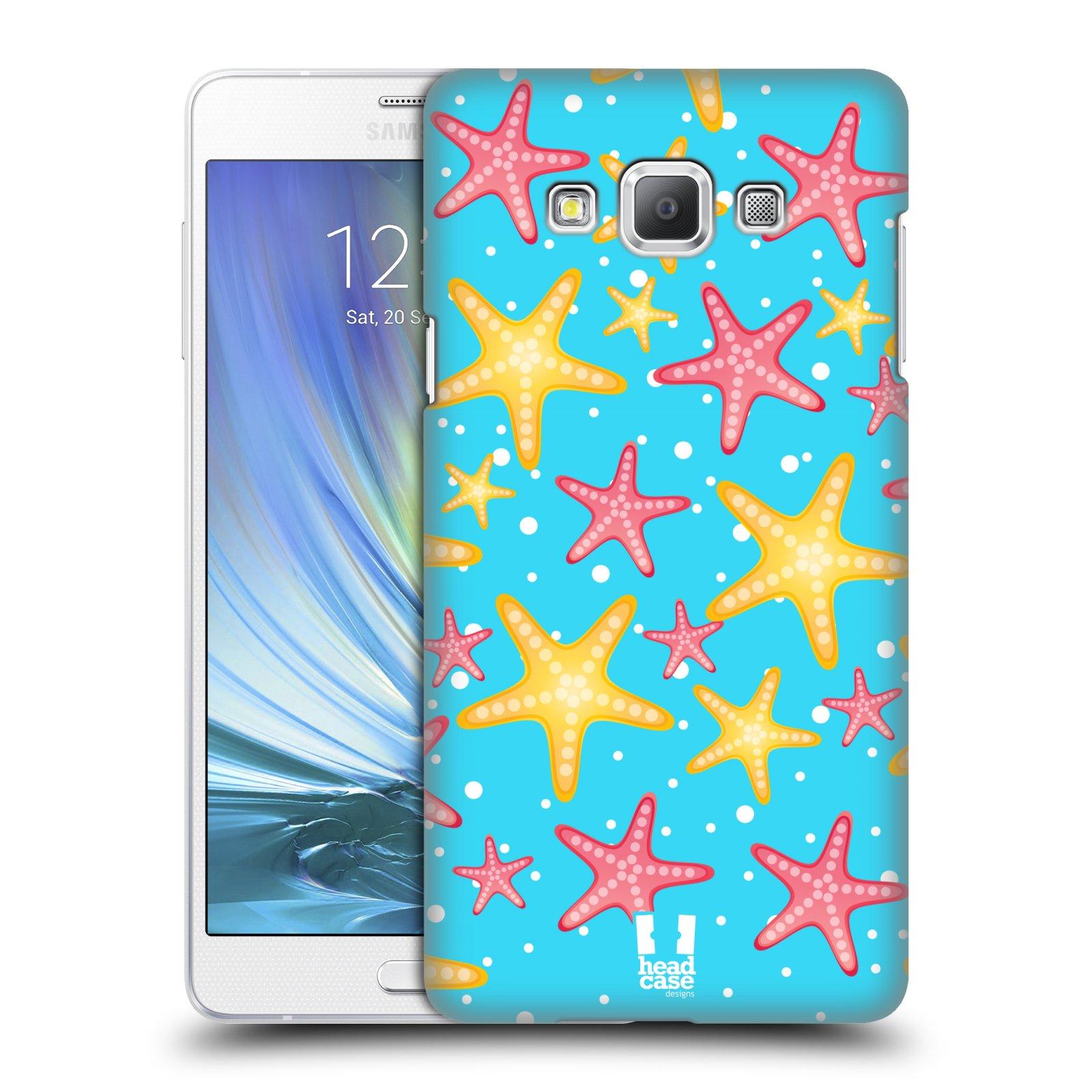 HEAD CASE plastový obal na mobil SAMSUNG GALAXY A7 vzor mořský živočich hvězda