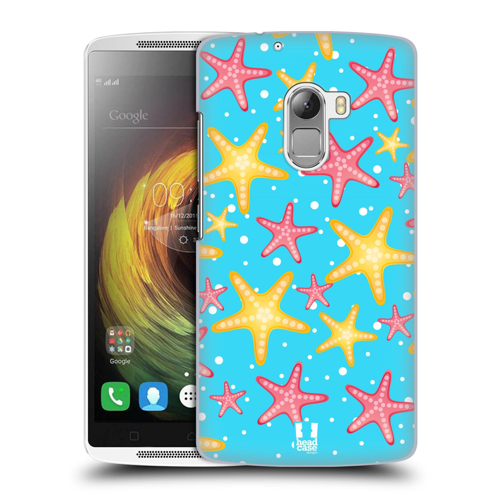 HEAD CASE pevný plastový obal na mobil LENOVO A7010 / A7010 DUAL / K4 Note / Vibe X3 lite vzor mořský živočich hvězda