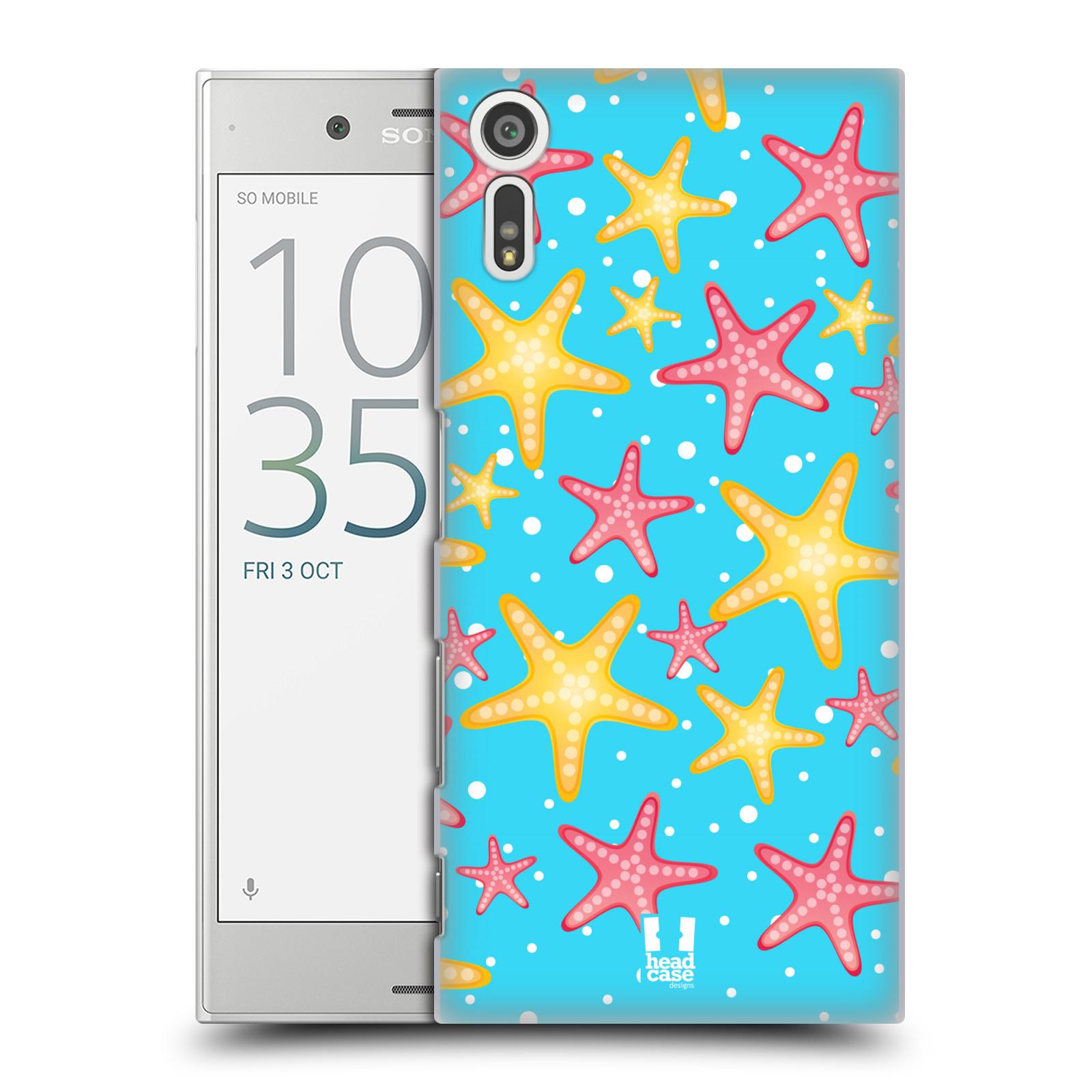 HEAD CASE plastový obal na mobil Sony Xperia XZ vzor mořský živočich hvězda