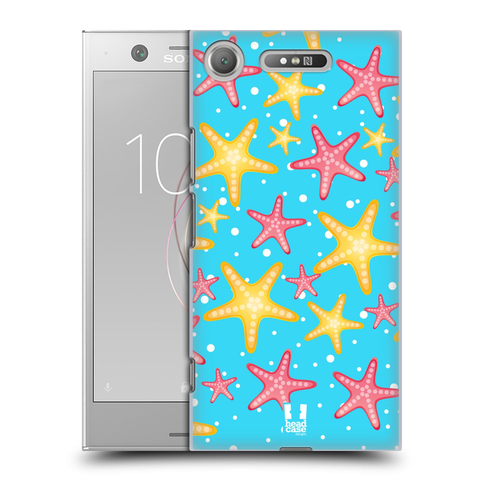 HEAD CASE plastový obal na mobil Sony Xperia XZ1 vzor mořský živočich hvězda