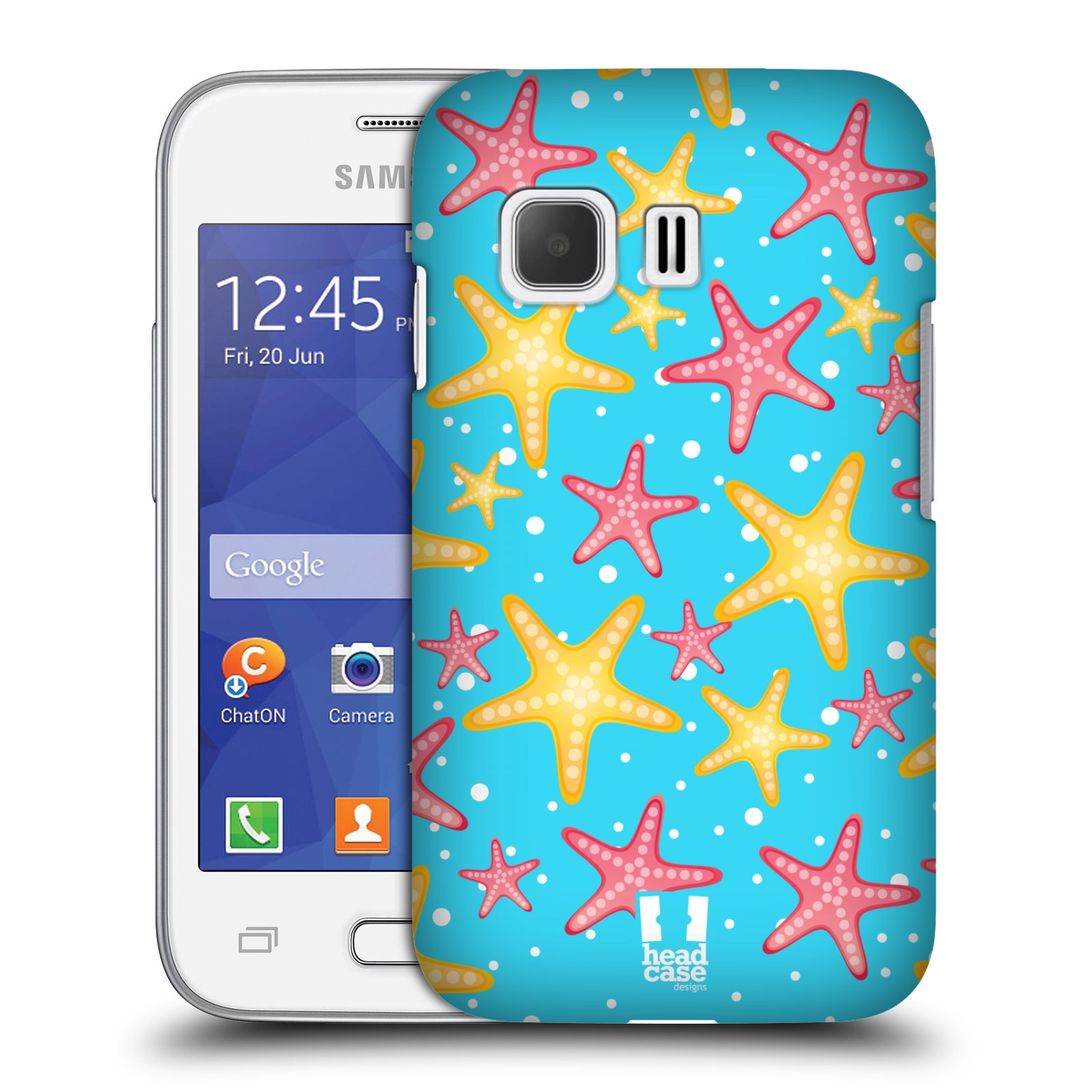 HEAD CASE plastový obal na mobil SAMSUNG Galaxy Young 2 (G130) vzor mořský živočich hvězda