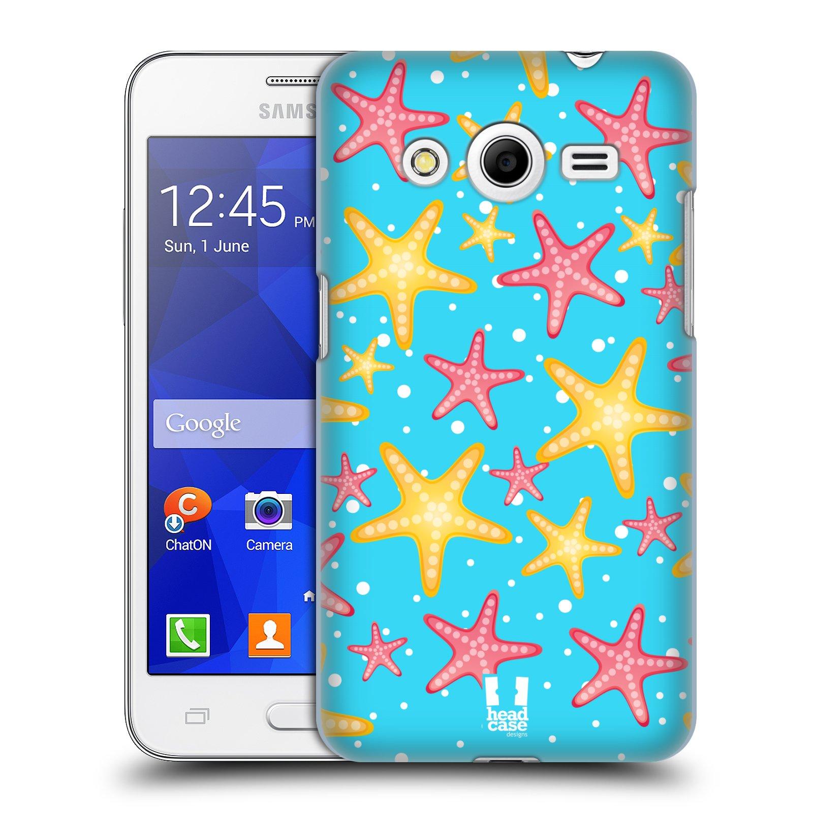 HEAD CASE plastový obal na mobil SAMSUNG GALAXY Core 2 (G355H) vzor mořský živočich hvězda