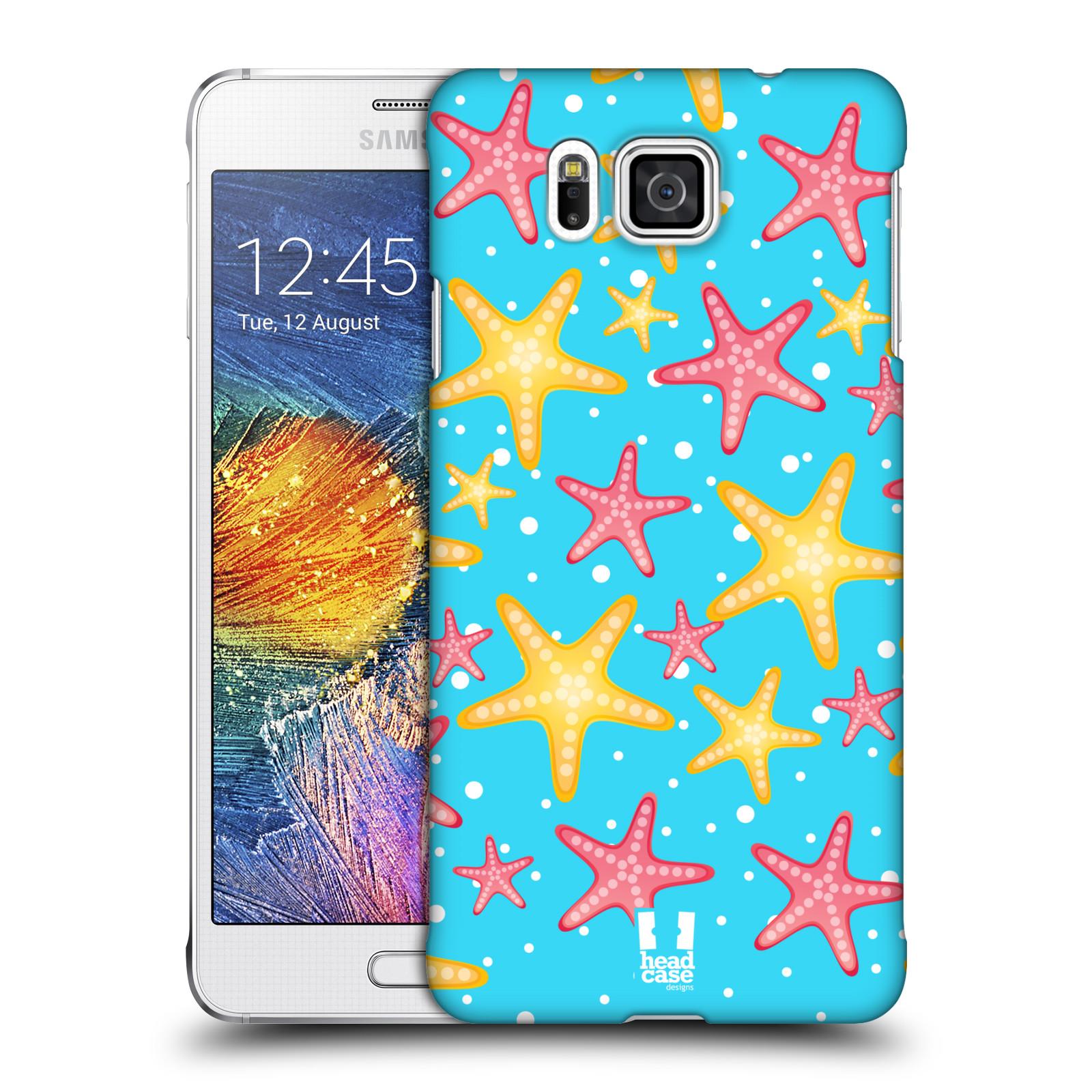 HEAD CASE plastový obal na mobil SAMSUNG Galaxy Alpha (G850) vzor mořský živočich hvězda