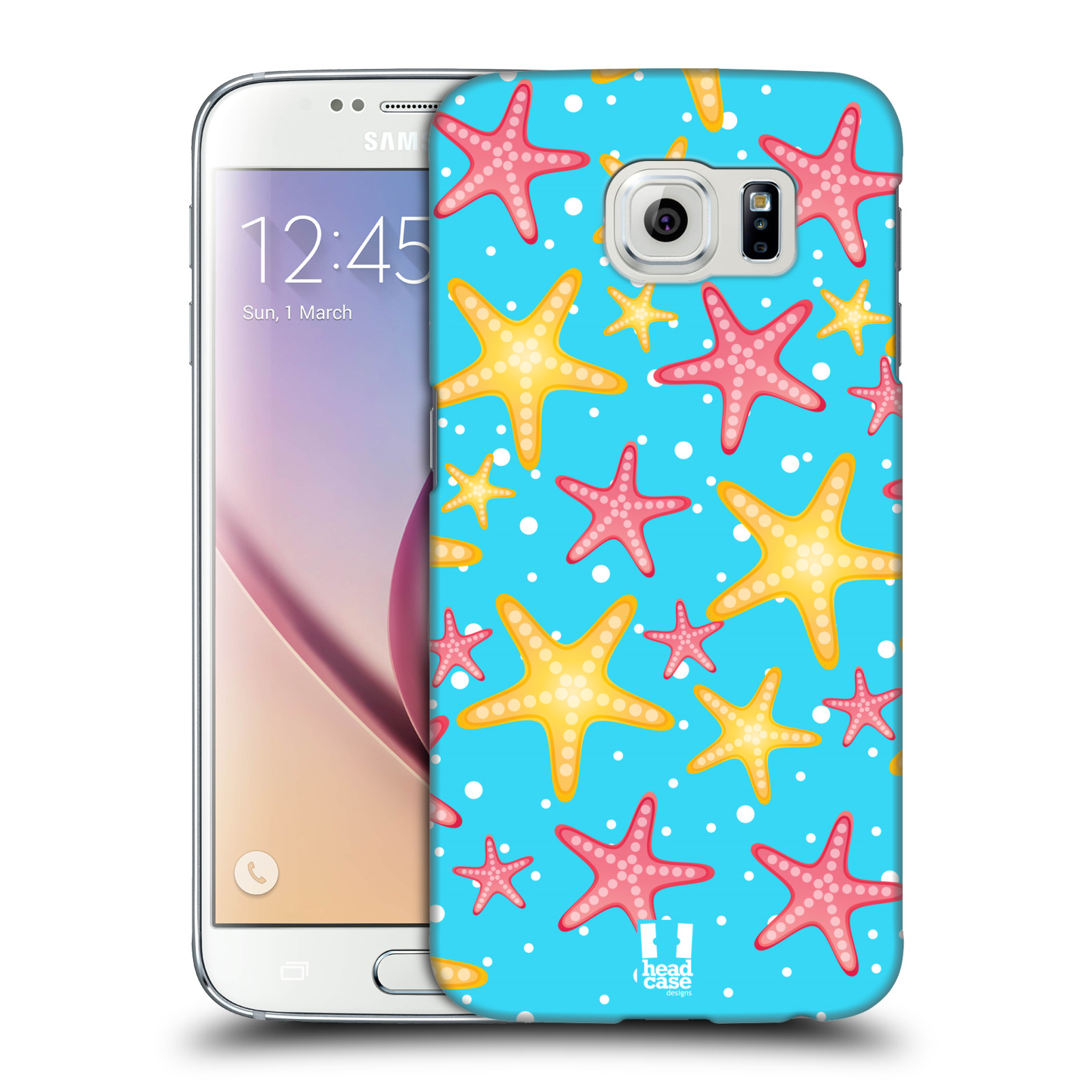 Head case designs sea prints hard back case for samsung for Cell phone cover design ideas