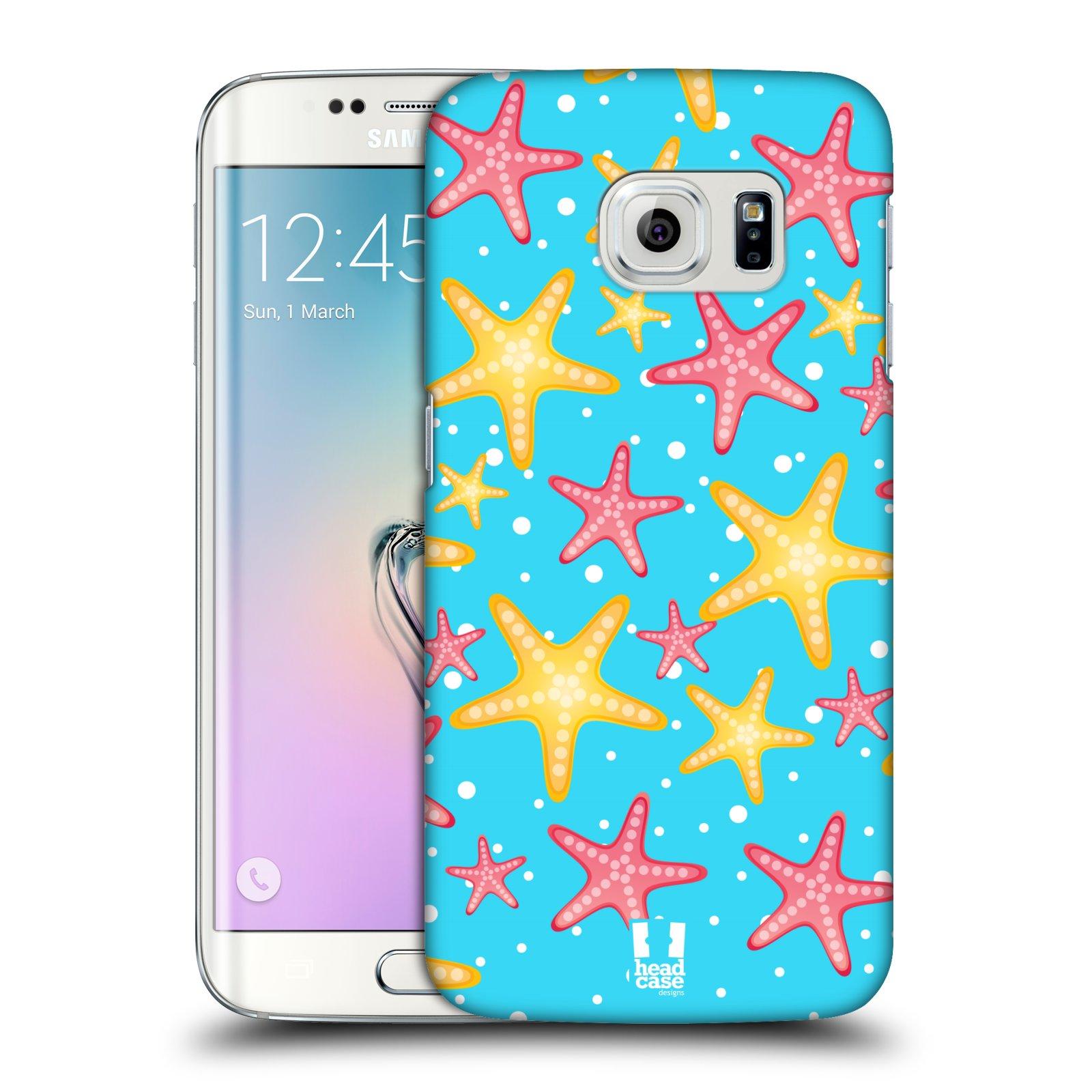 HEAD CASE plastový obal na mobil SAMSUNG Galaxy S6 EDGE (G9250, G925, G925F) vzor mořský živočich hvězda