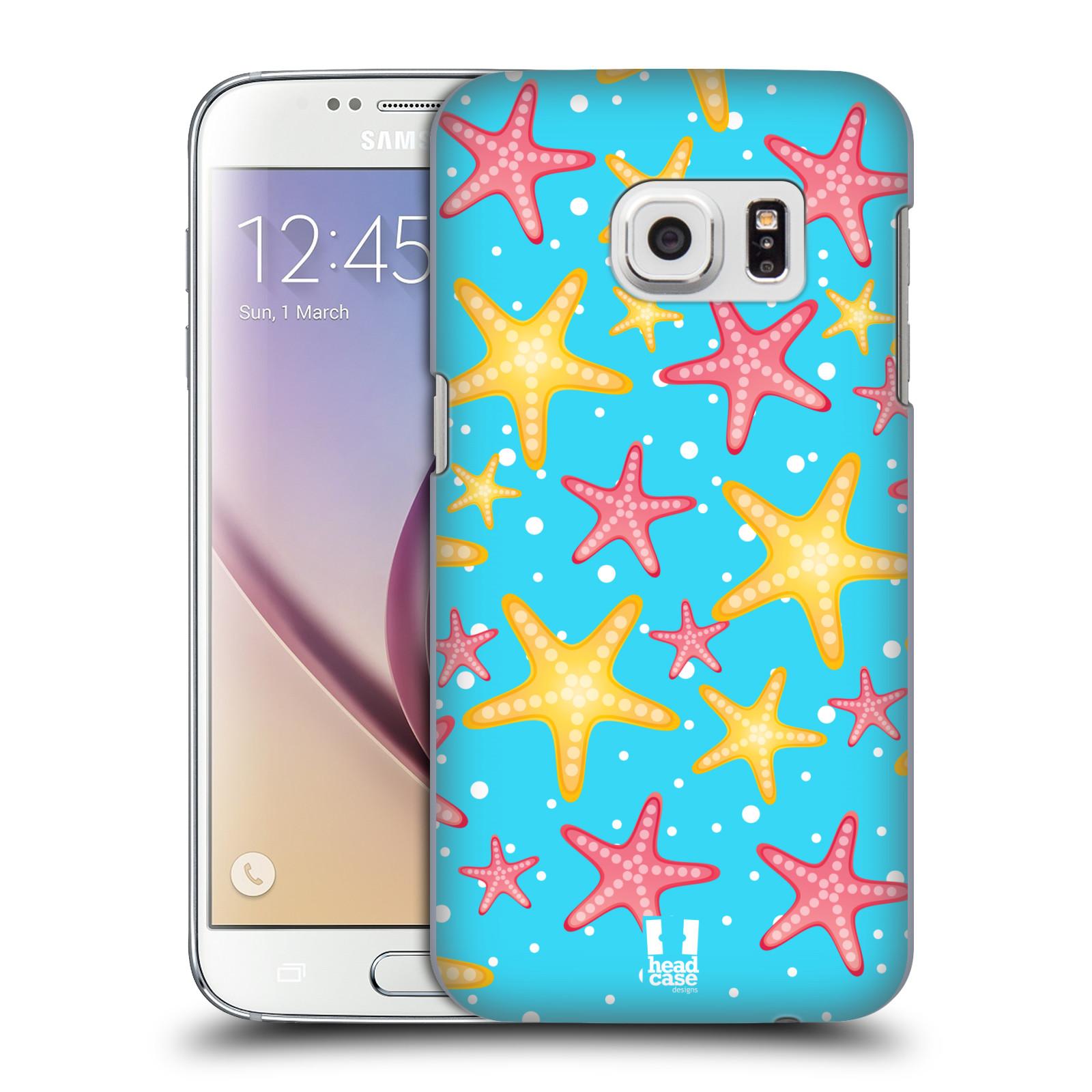 HEAD CASE plastový obal na mobil SAMSUNG GALAXY S7 vzor mořský živočich hvězda