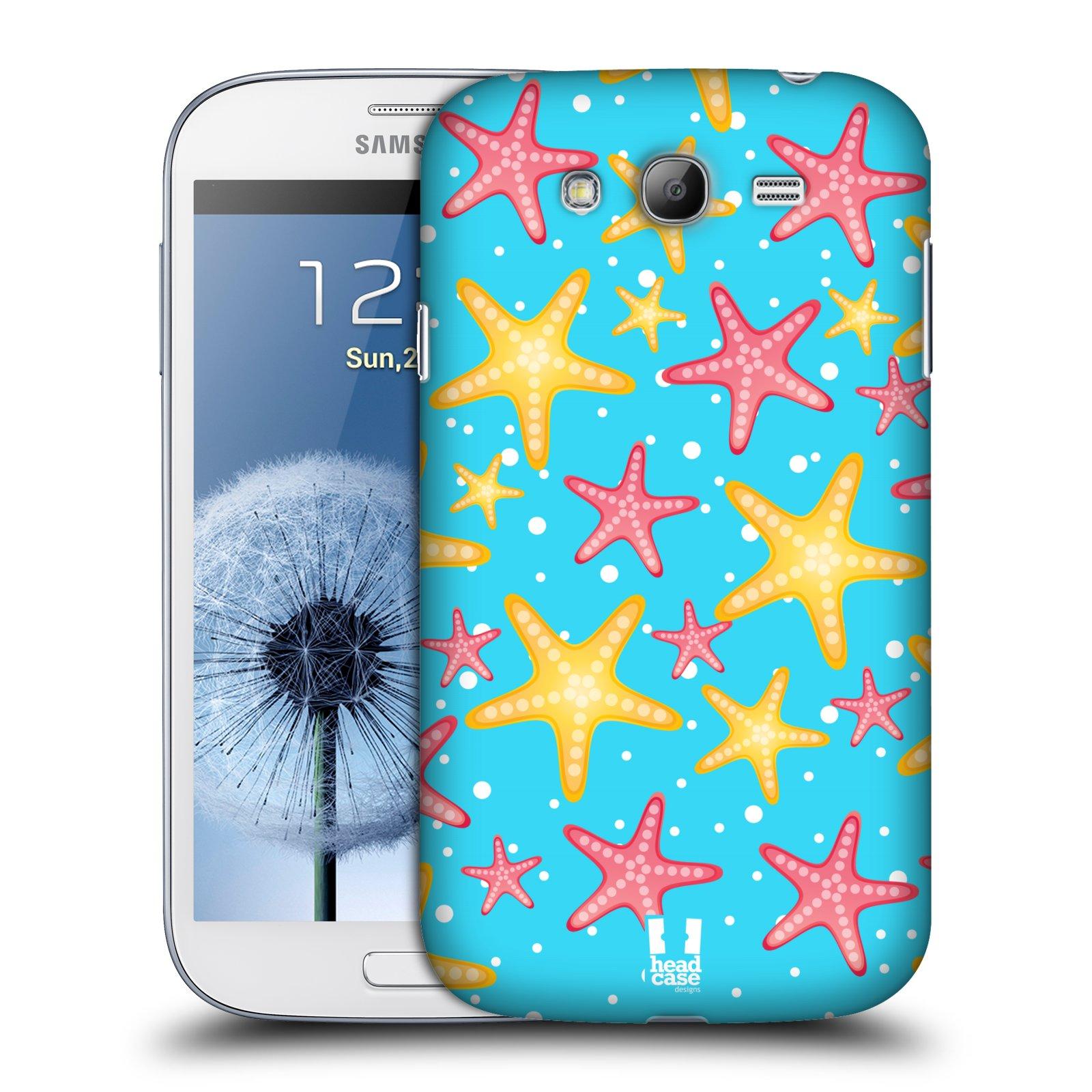 HEAD CASE plastový obal na mobil SAMSUNG GALAXY Grand i9080 vzor mořský živočich hvězda