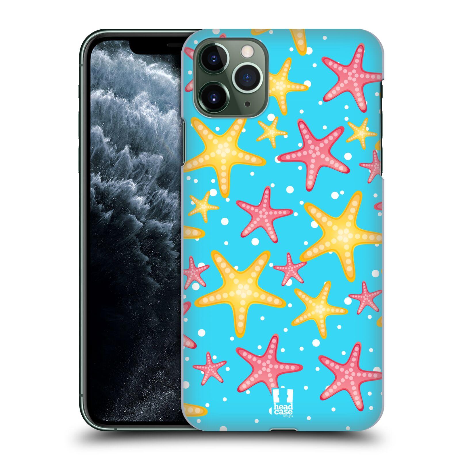 Pouzdro na mobil Apple Iphone 11 PRO MAX - HEAD CASE - vzor mořský živočich hvězda