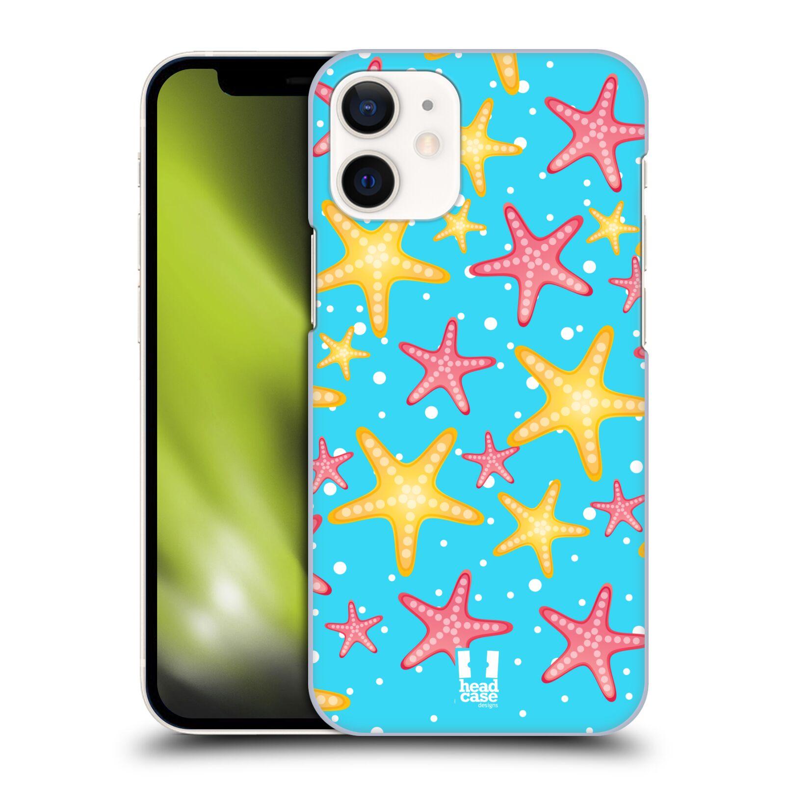 Plastový obal na mobil Apple Iphone 12 MINI vzor mořský živočich hvězda