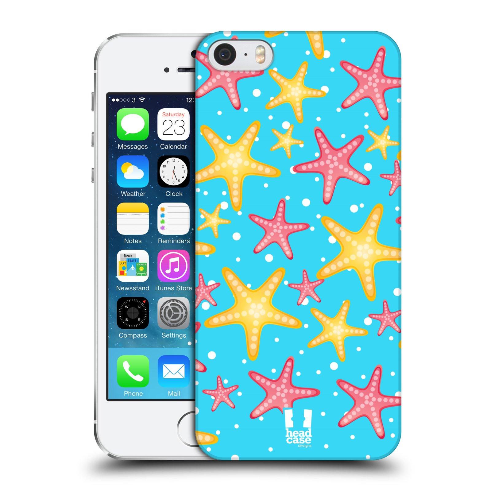 Plastové pouzdro pro mobil Apple Iphone 5 / 5S / SE vzor mořský živočich hvězda