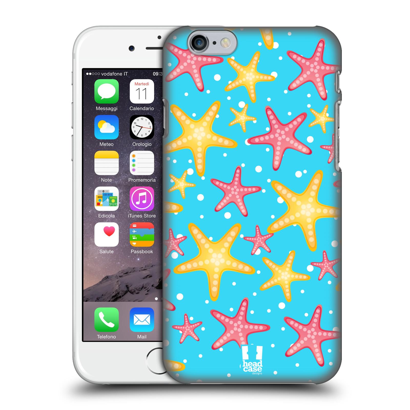Plastové pouzdro pro mobil Apple Iphone 6/6S vzor mořský živočich hvězda