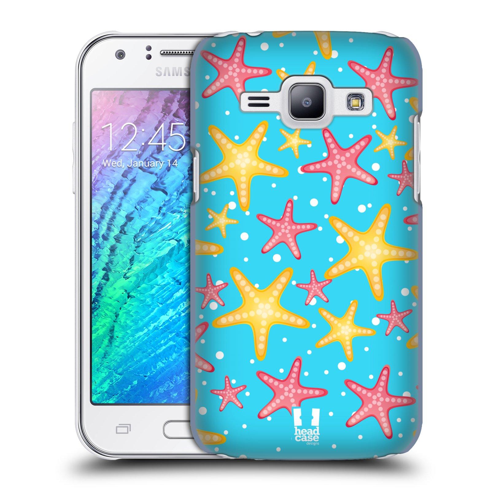 HEAD CASE plastový obal na mobil SAMSUNG Galaxy J1, J100 vzor mořský živočich hvězda