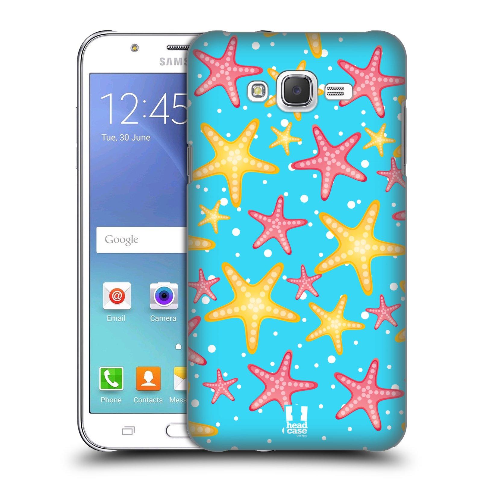 HEAD CASE plastový obal na mobil SAMSUNG Galaxy J7, J700 vzor mořský živočich hvězda